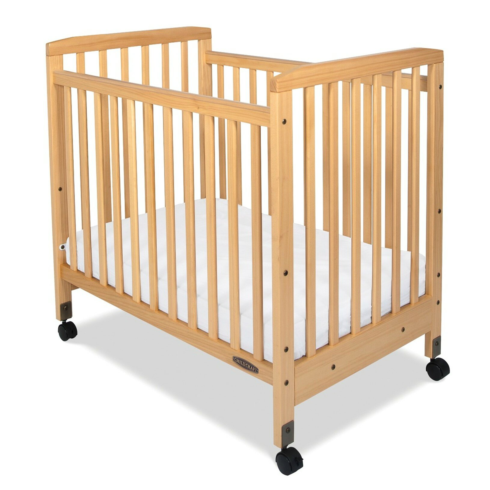 Evacuation crib for sale - Child Craft Bristol Professional Series Compact Child Care Crib With Mattress
