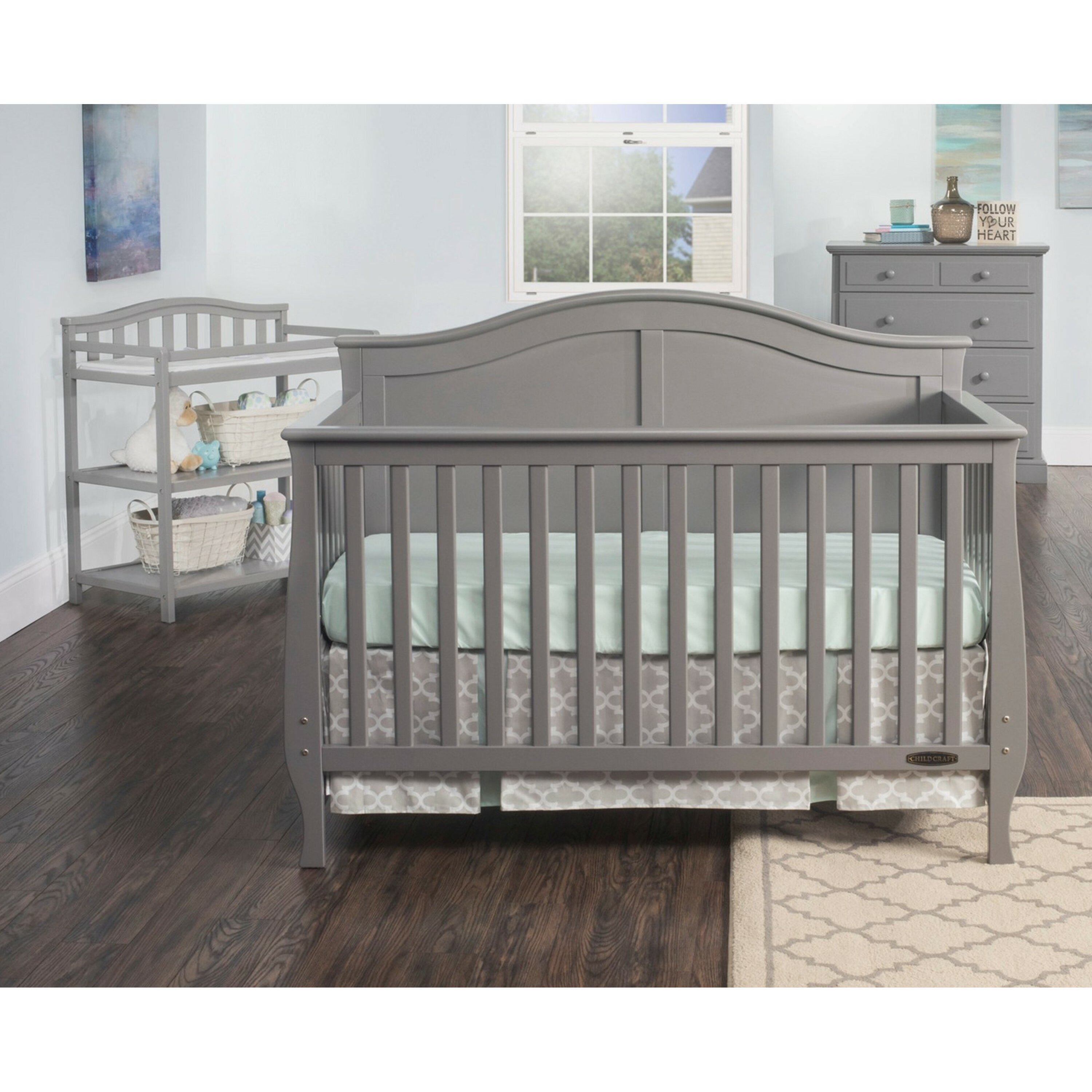 Iron crib for sale craigslist - Crib For Sale Marikina Child Craft Camden 4 In 1 Convertible Crib