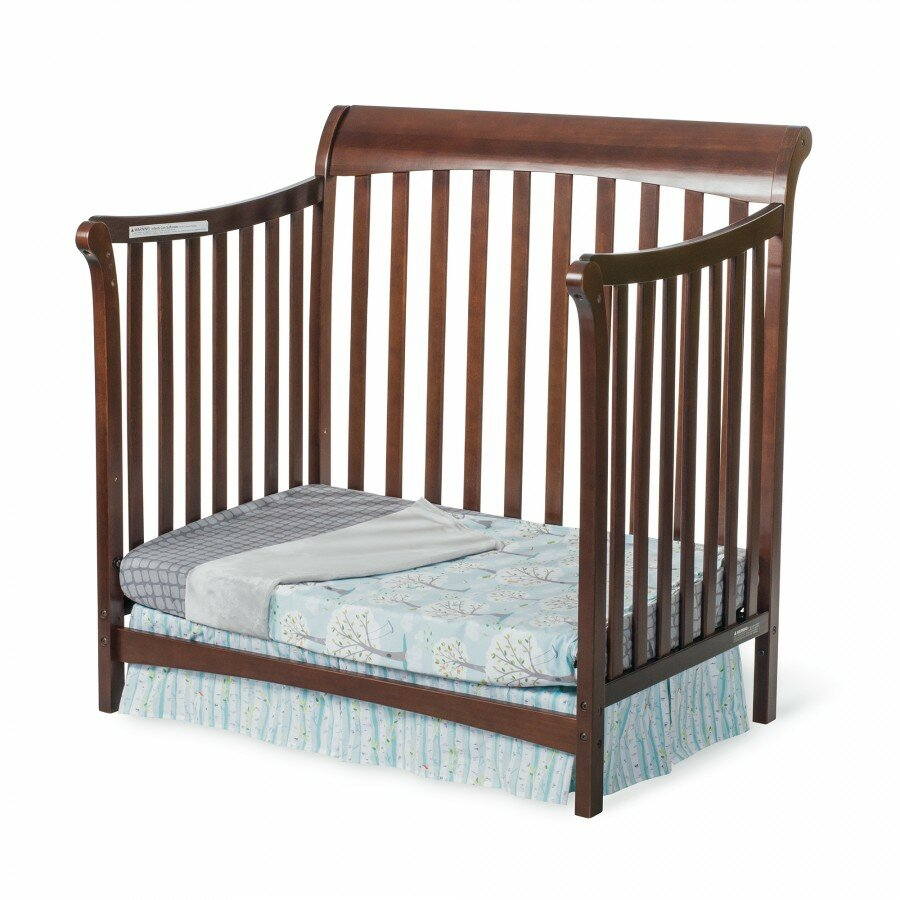 Crib for sale in palm bay - Child Craft Ashton 4 In 1 Convertible Mini Crib With Mattress