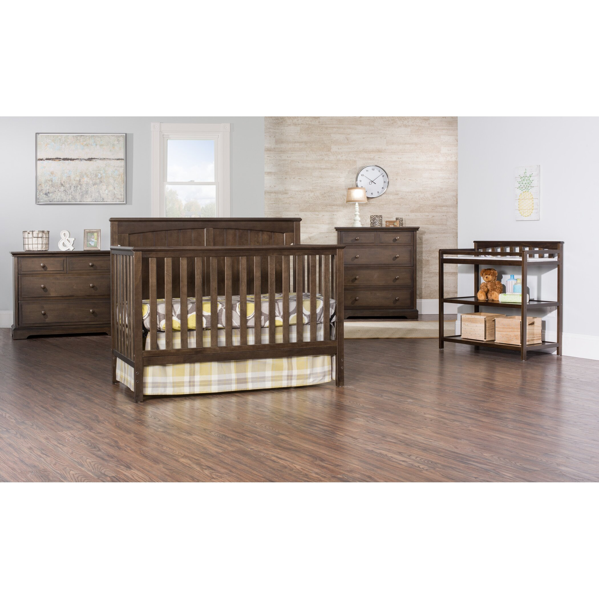Baby crib youth bed - Sheldon 4 In 1 Convertible Crib