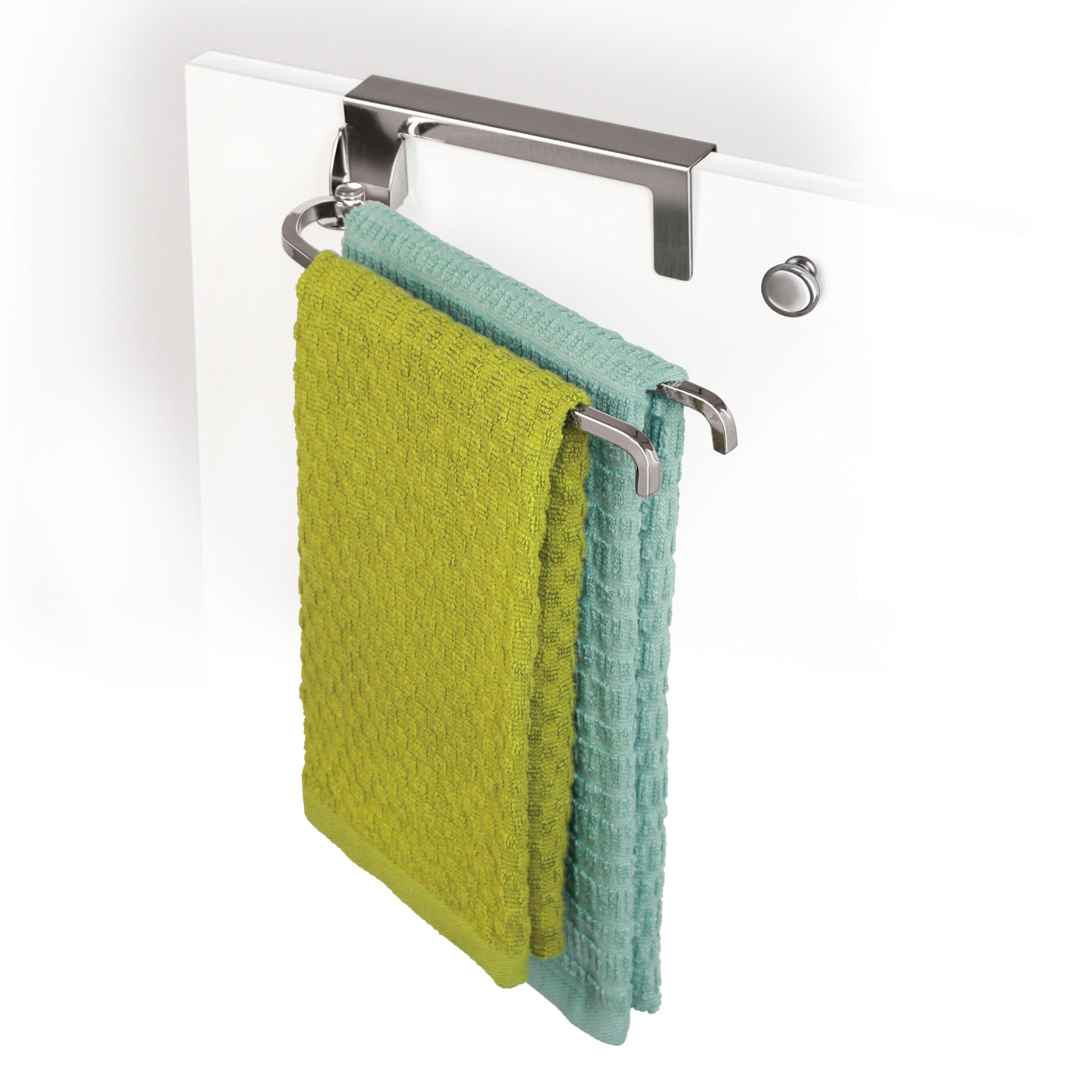 Kitchen Towel Bars Over Cabinet Door Towel Holder Monsterlune