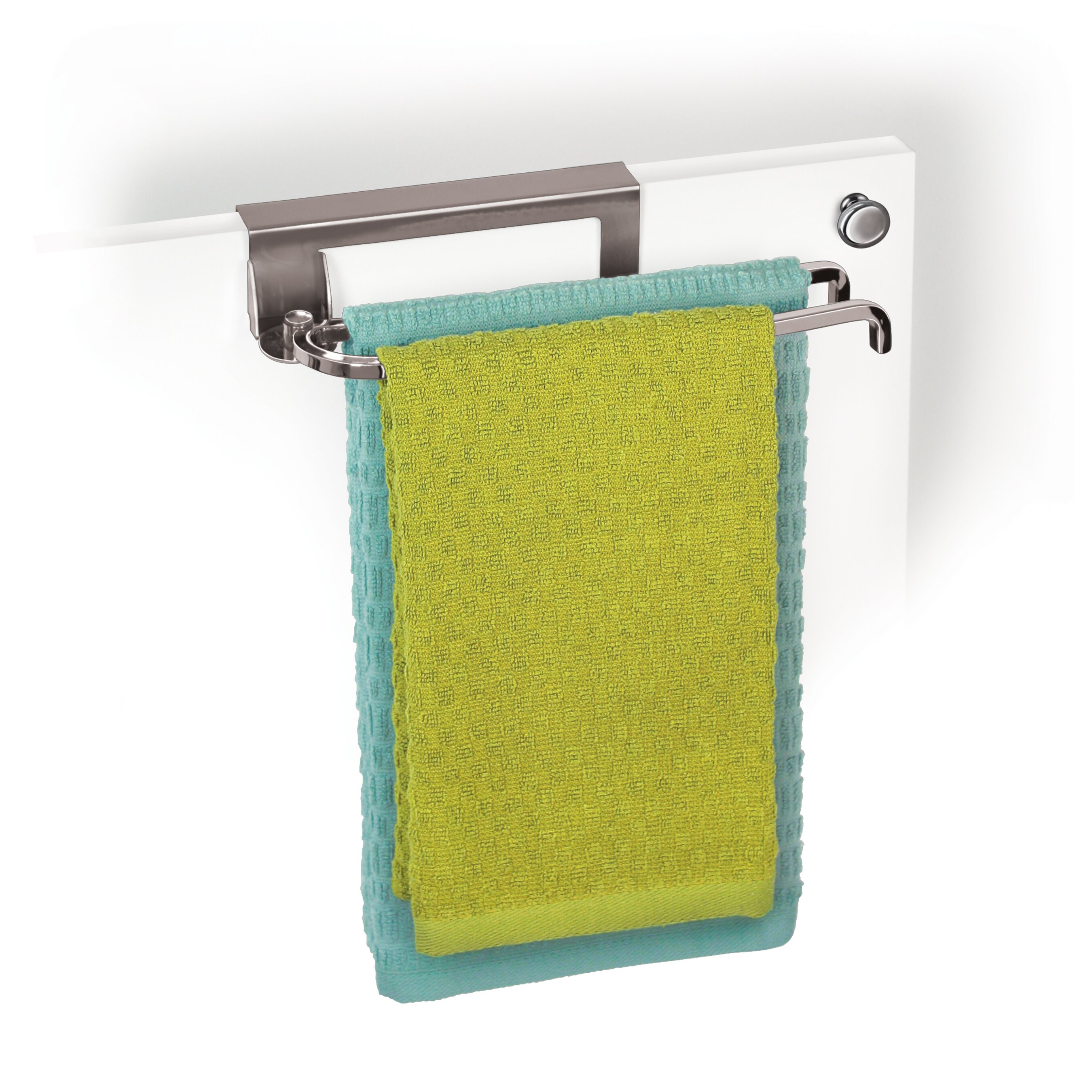 Kitchen Towel Rack Over Cabinet Door Towel Rack Monsterlune