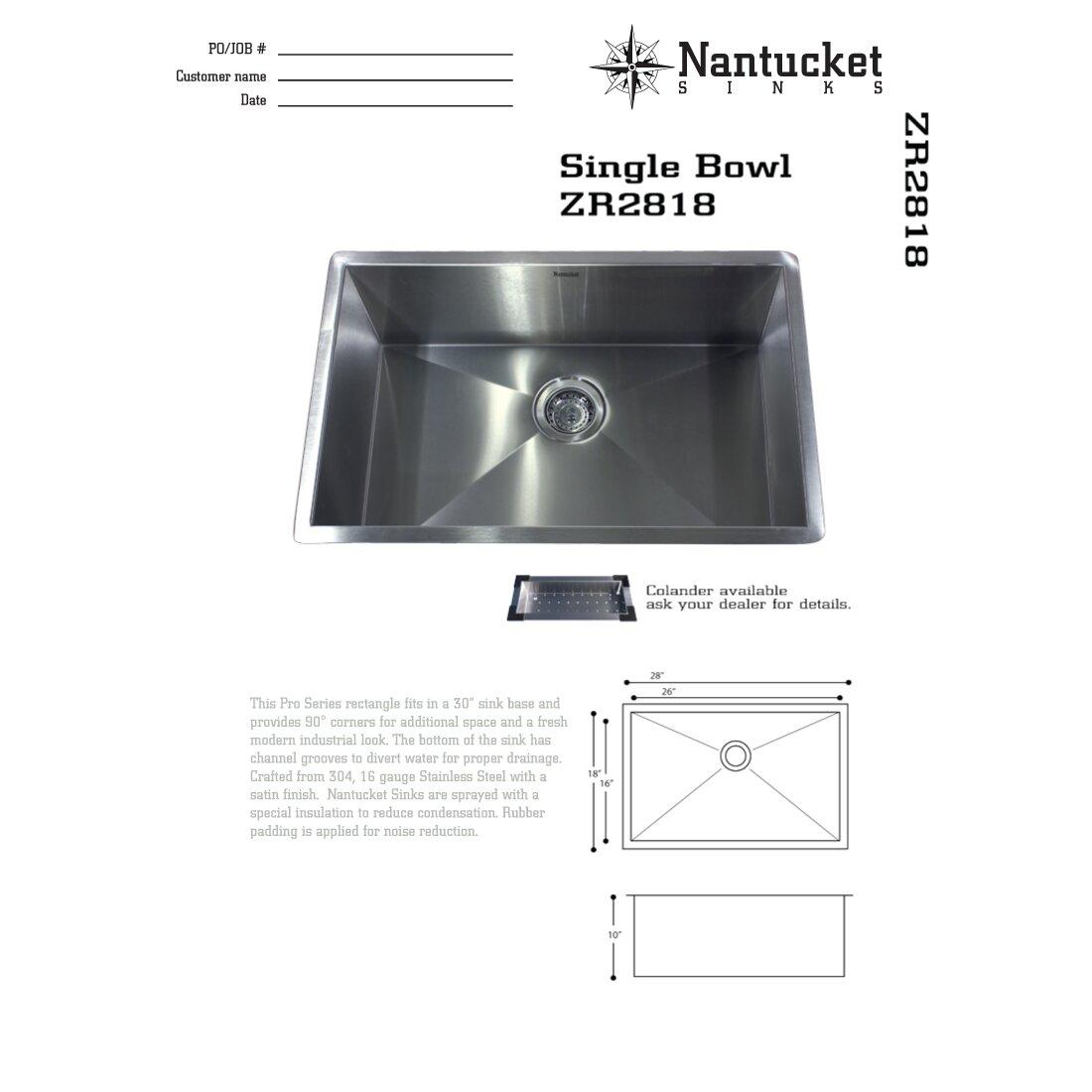 Pro Series  X  Undermount Kitchen Sink