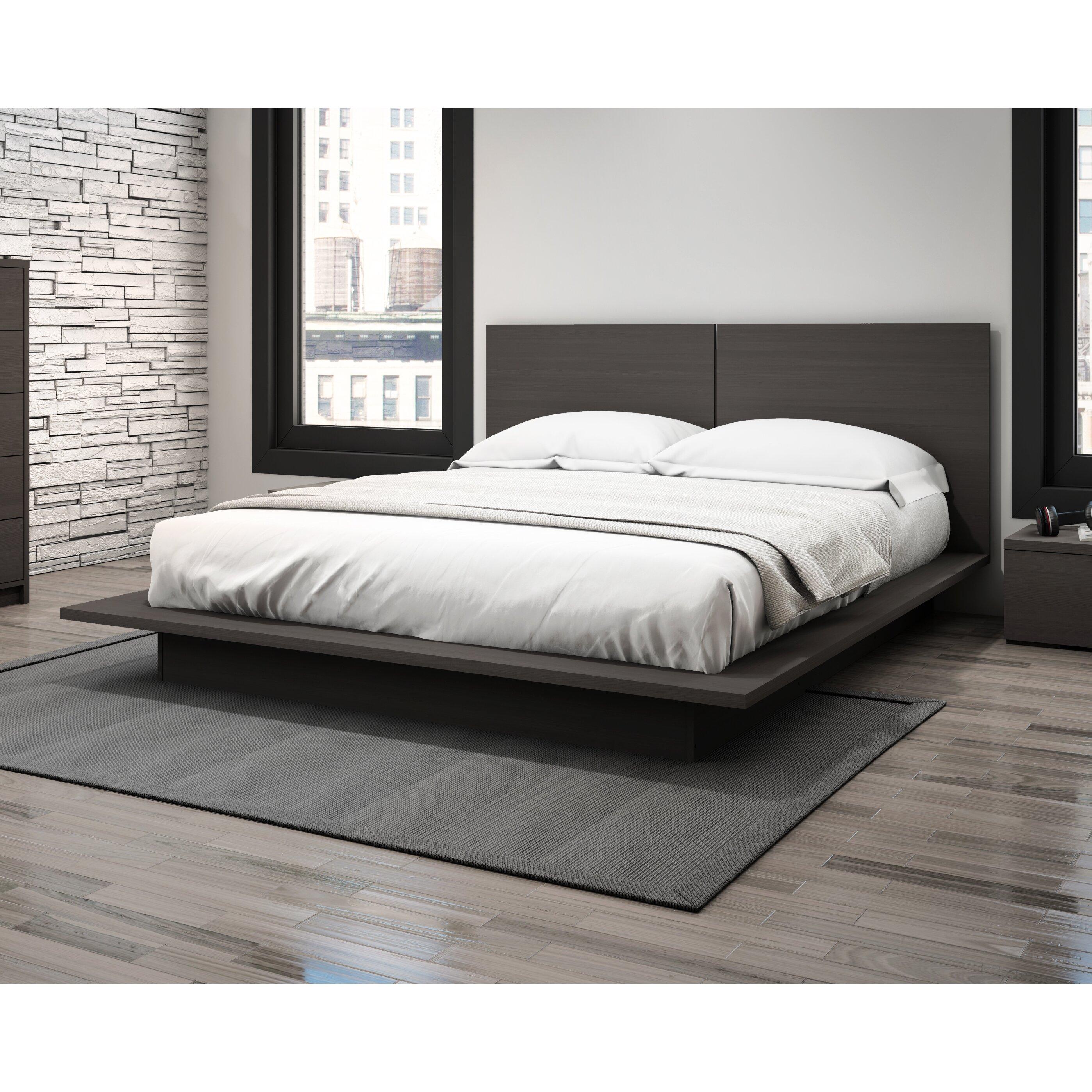 stellar home furniture modena queen platform bed