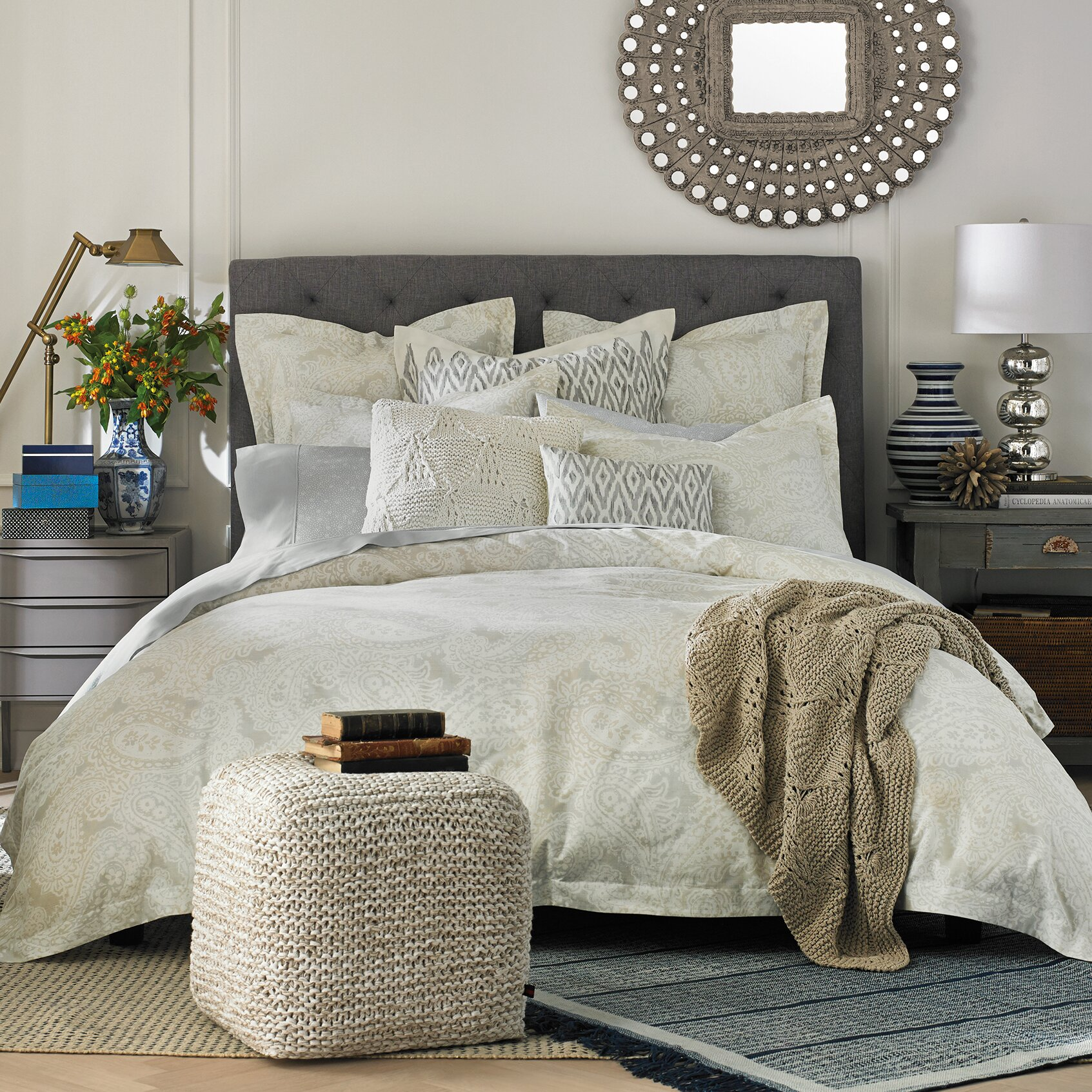 Paisley Bedroom Tommy Hilfiger Mission Paisley Bedding Collection Reviews Wayfair
