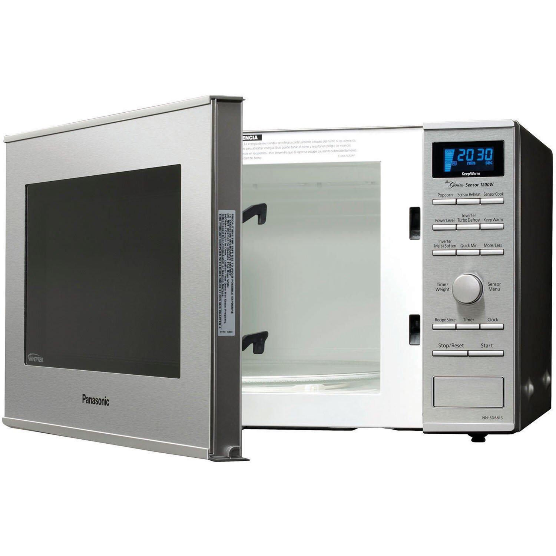 Panasonic Kitchen Appliances Panasonic 12 Cu Ft 1200w Countertop Built In Microwave