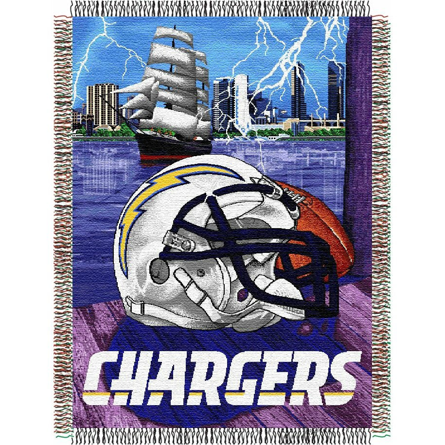 Northwest Co Nfl San Diego Chargers Tapestry Throw