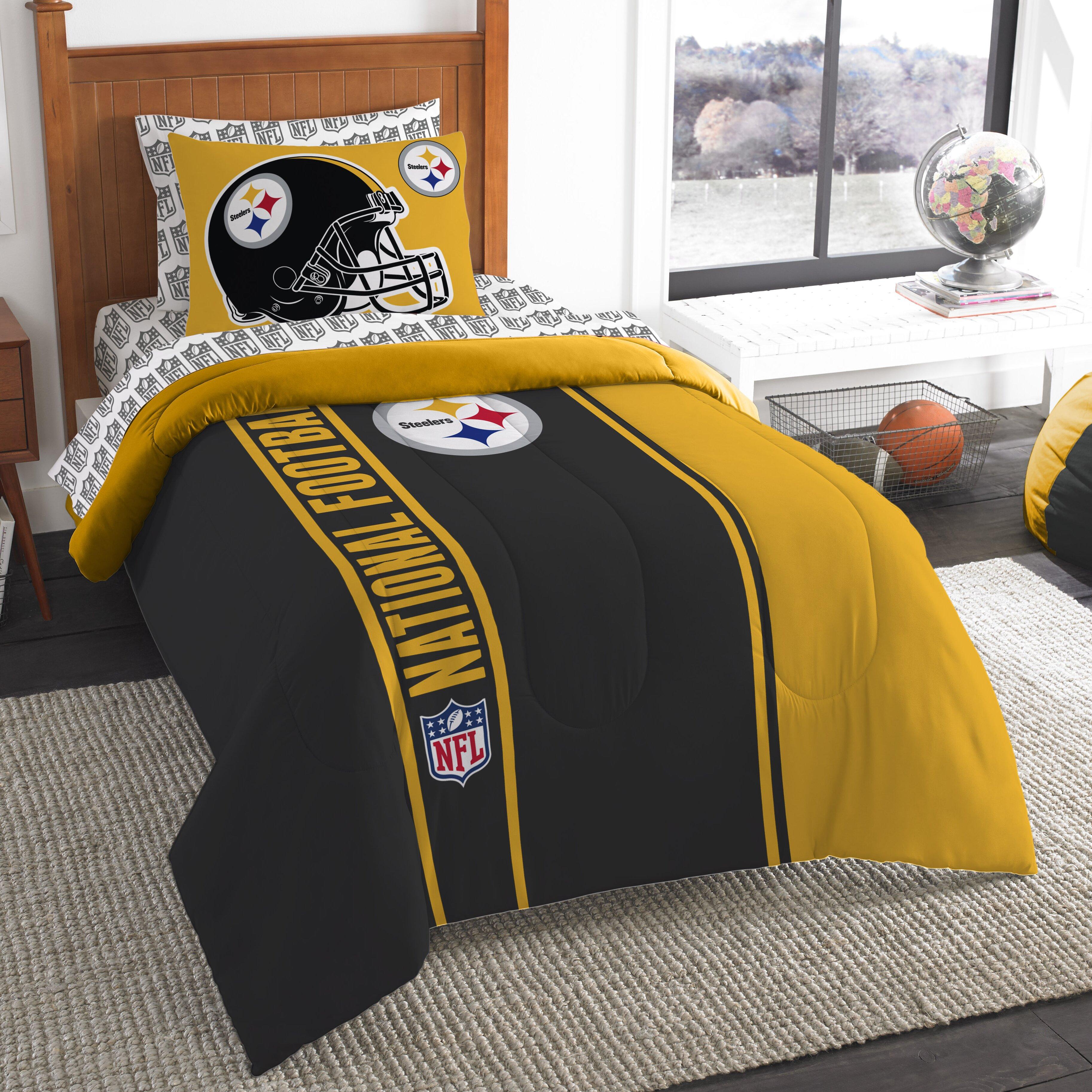 northwest co nfl steelers comforter set reviews