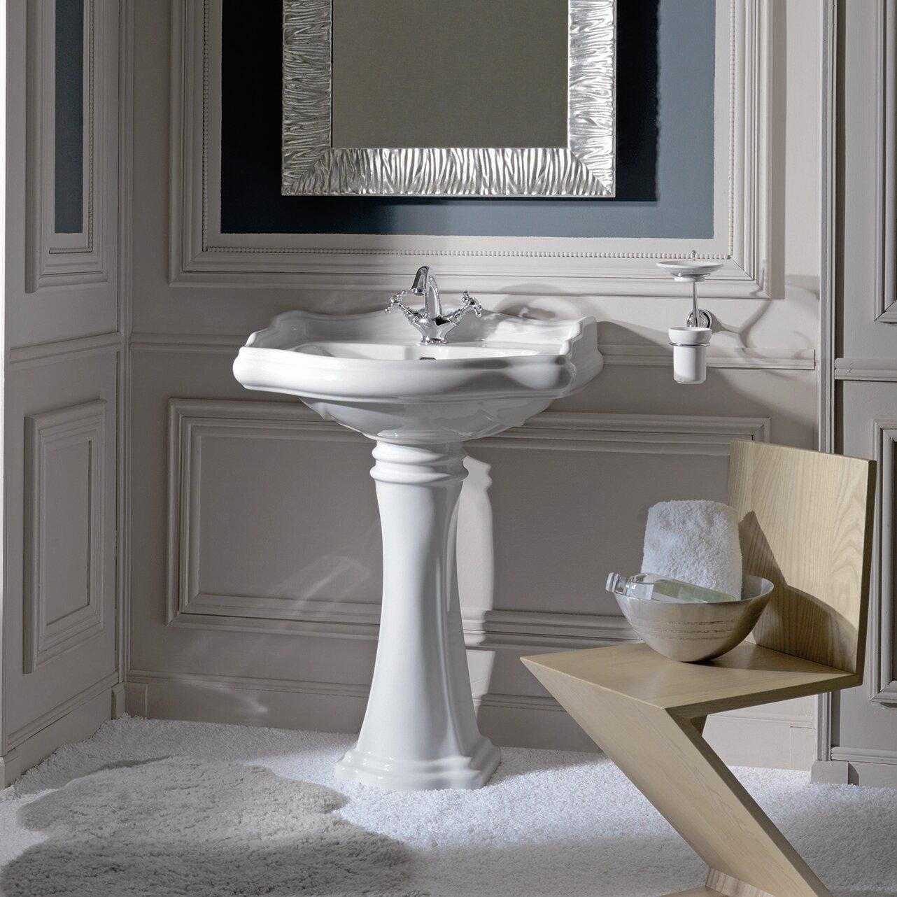 pedestal sinks you'll love   wayfair