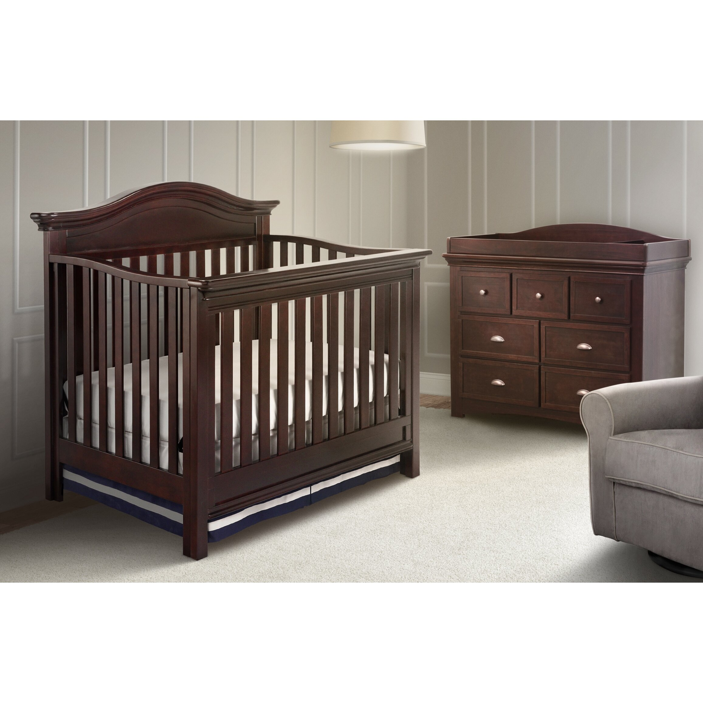 Baby cribs richmond va - Simmons Kids Slumber Time Augusta Molasses Crib N More