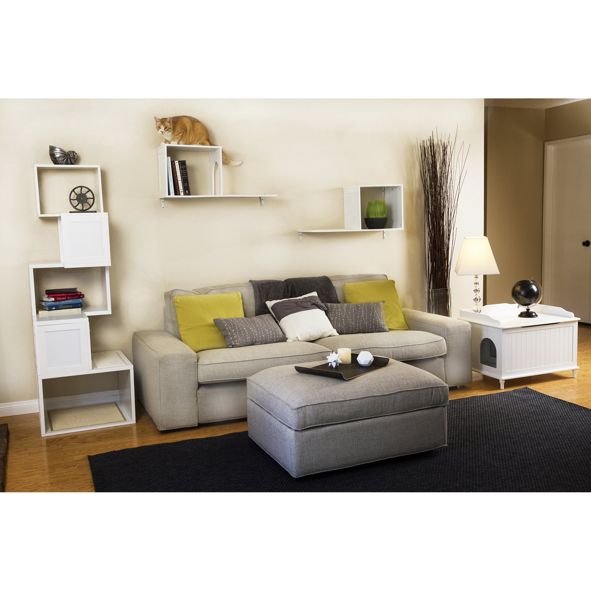 Mia Bedroom Furniture Mia Litter Box Enclosure Reviews Allmodern