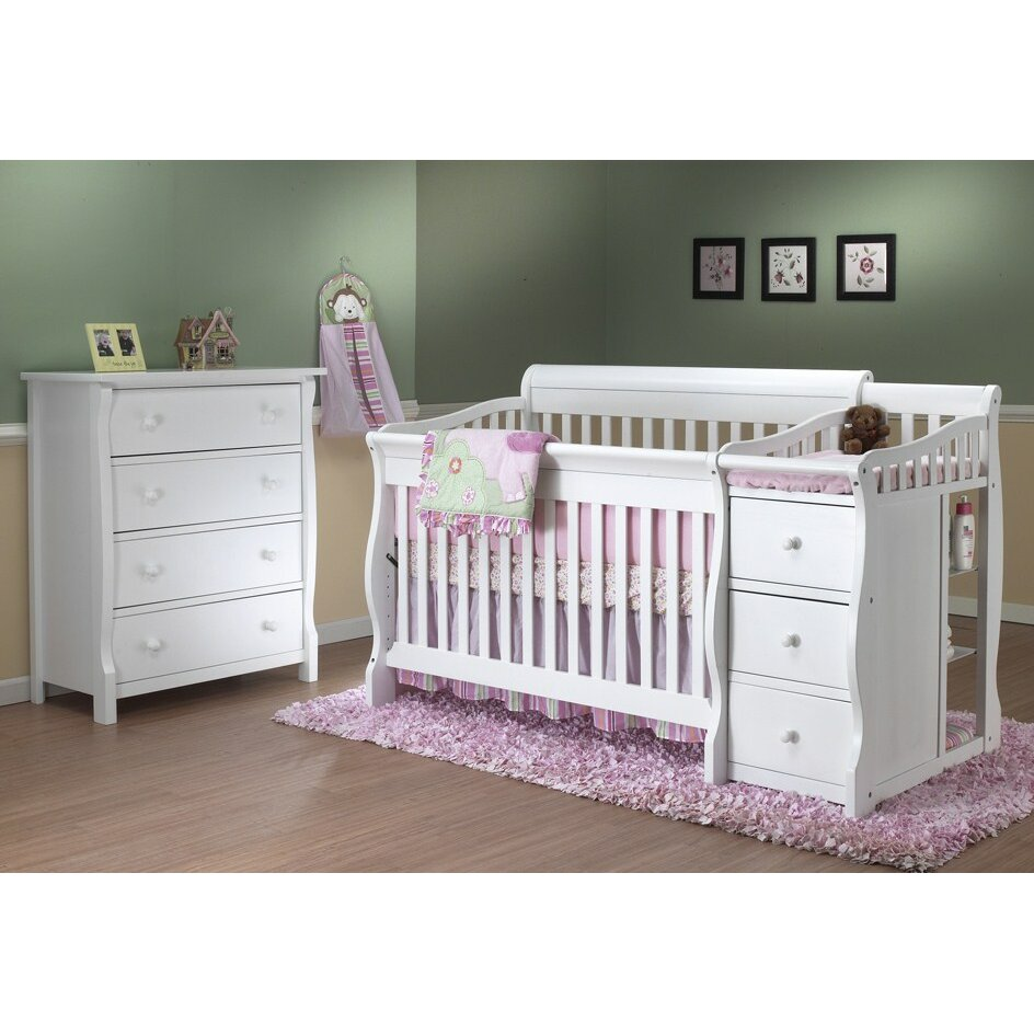 Baby cribs columbus ohio - Sorelle Tuscany 4 In 1 Convertible Crib