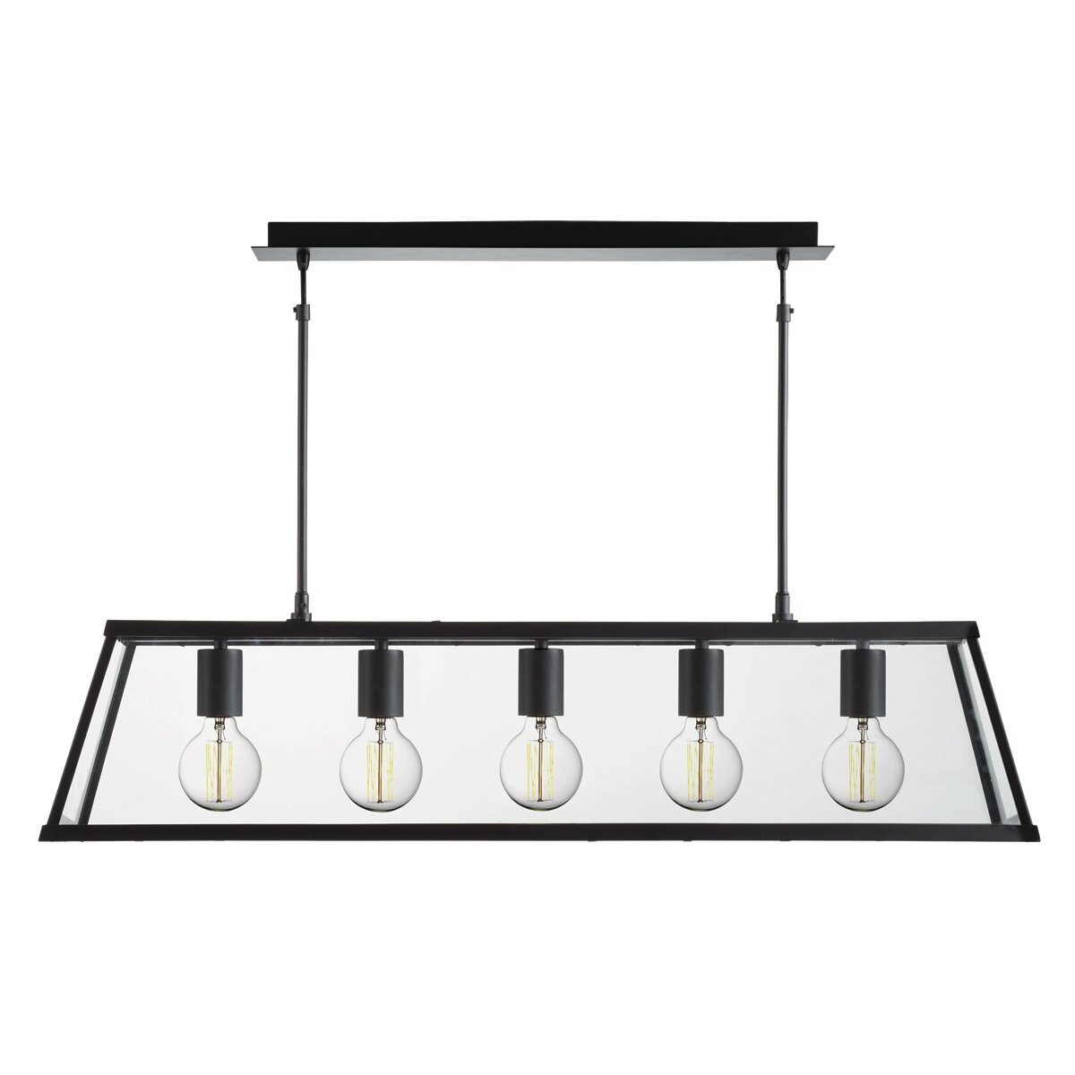 Kitchen Island Lantern Pendants: Searchlight Voyager 5 Light Kitchen Island Pendant & Reviews