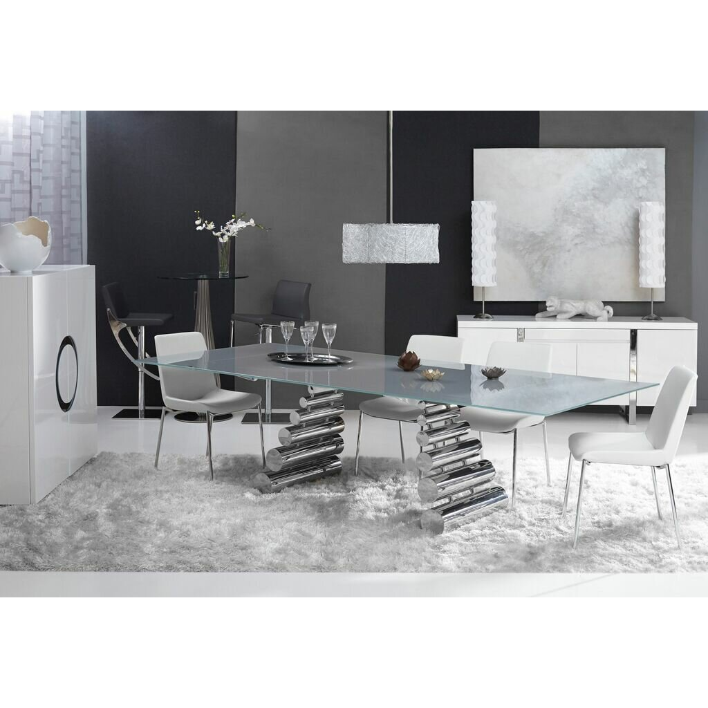 olympic expandable dining table by bellini modern living