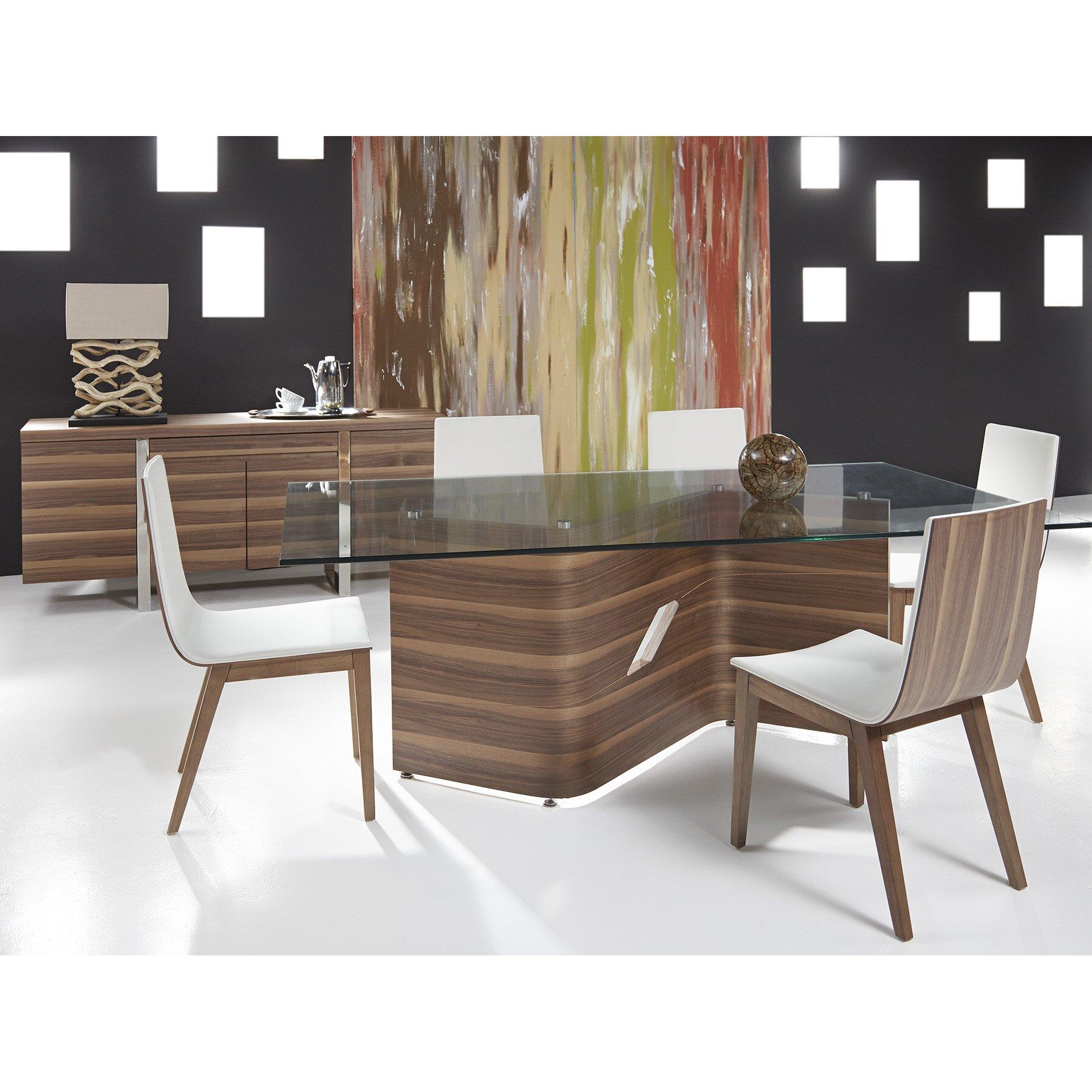 Modern Side Chairs For Living Room Bellini Modern Living Eva Side Chair Reviews Wayfair