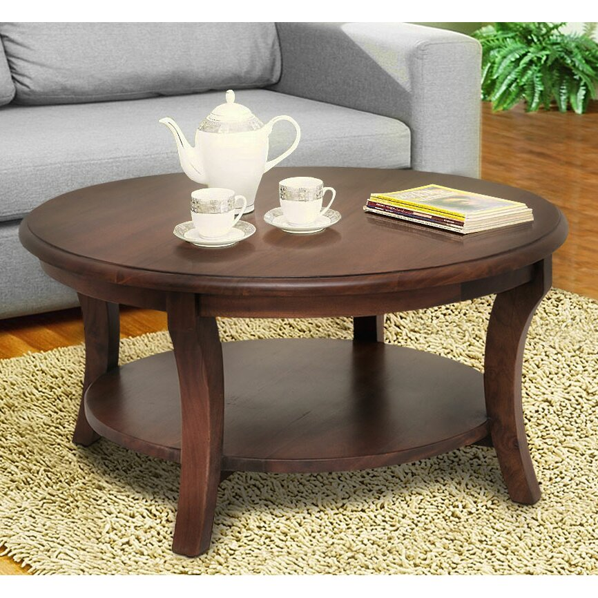 Vintage Casual Coffee Tables: Casual Elements Kensington Coffee Table & Reviews