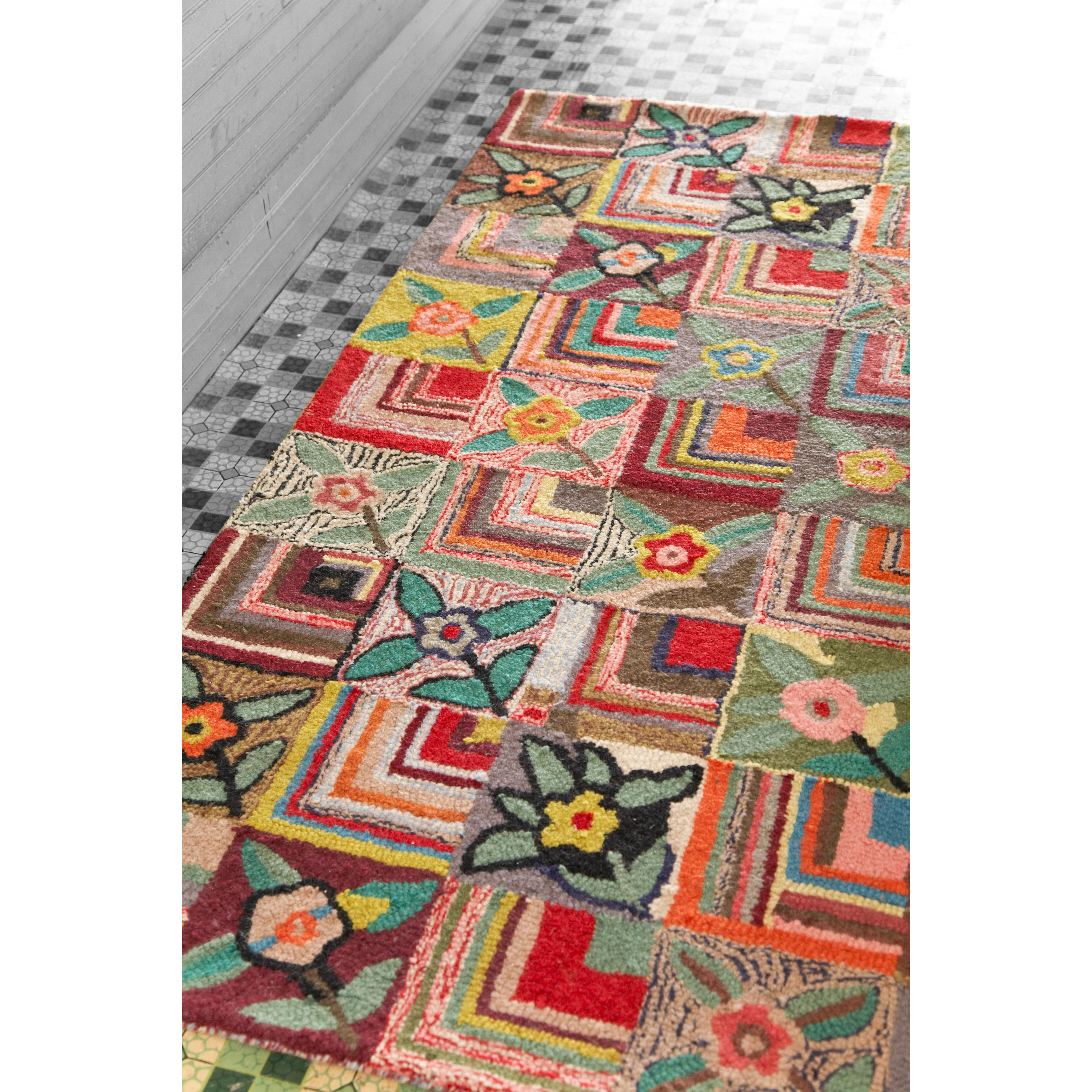 Dash And Albert Rugs Hooked Area Rug & Reviews