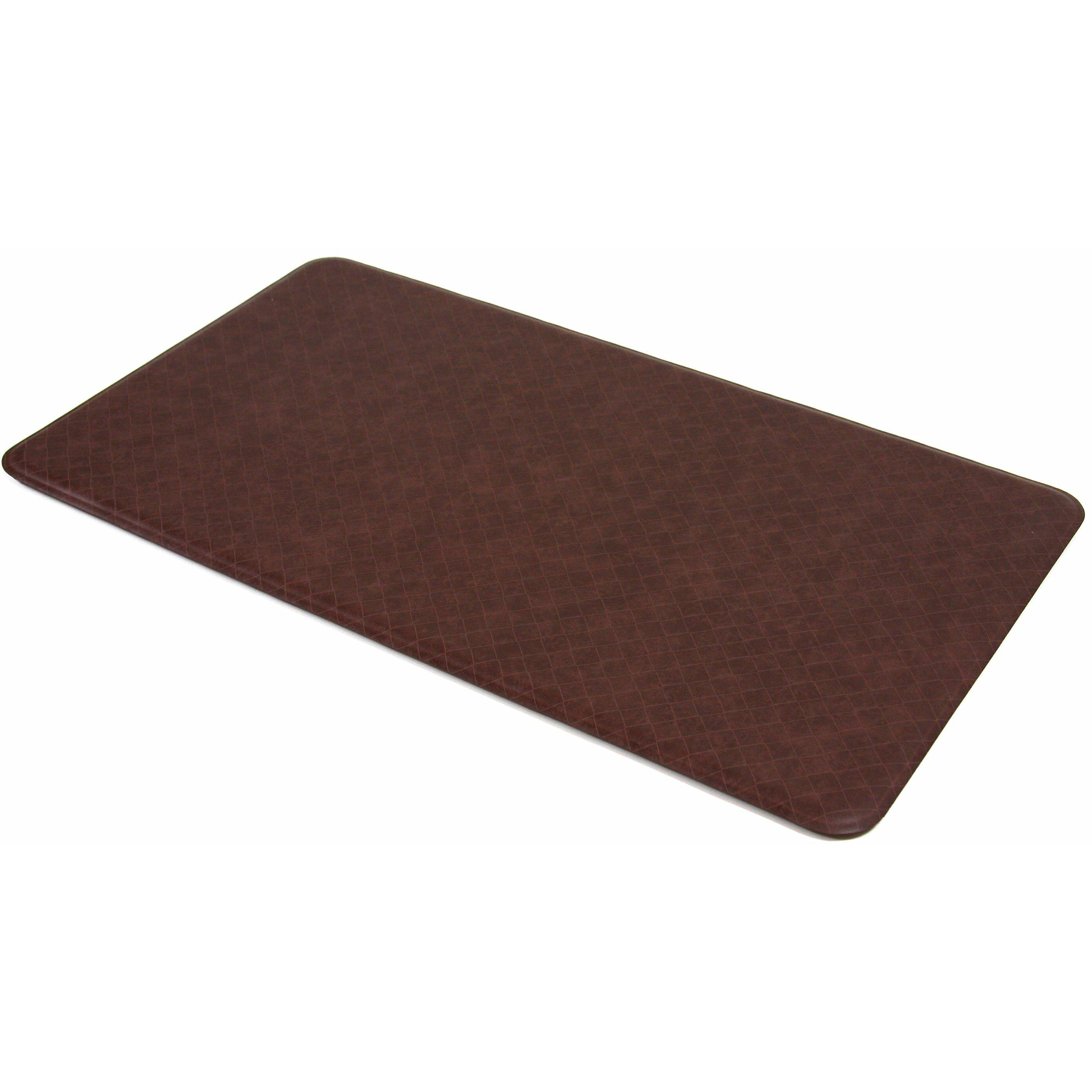 Solid Color Kitchen Rugs Imprint Comfort Mats Nantucket Solid Kitchen Mat Reviews Wayfair
