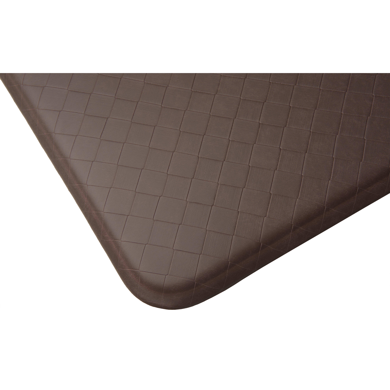 Comfort Mats For Kitchen Floor Imprint Comfort Mats Nantucket Solid Kitchen Mat Reviews Wayfair