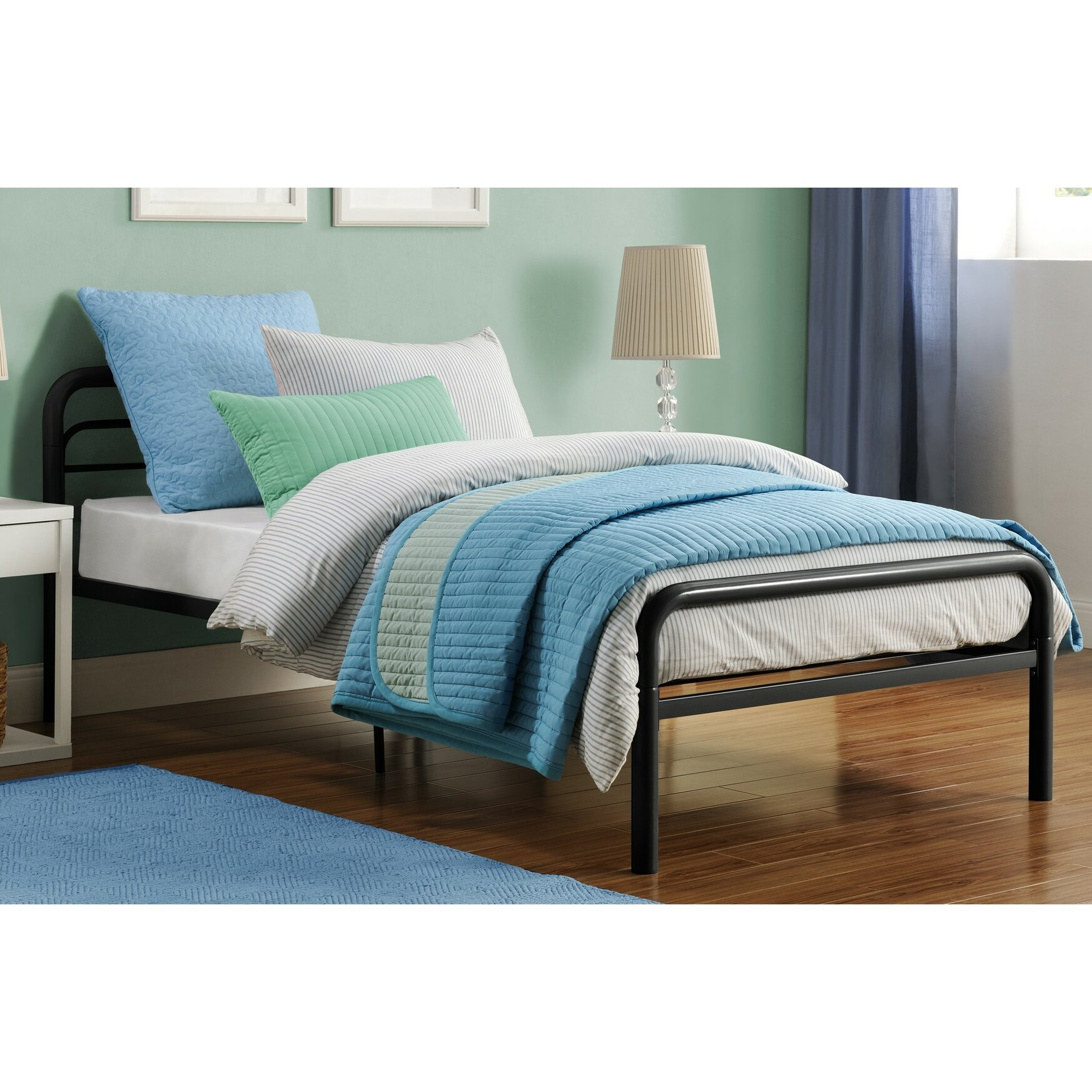 Dhp Twin Platform Bed Amp Reviews Wayfair Ca