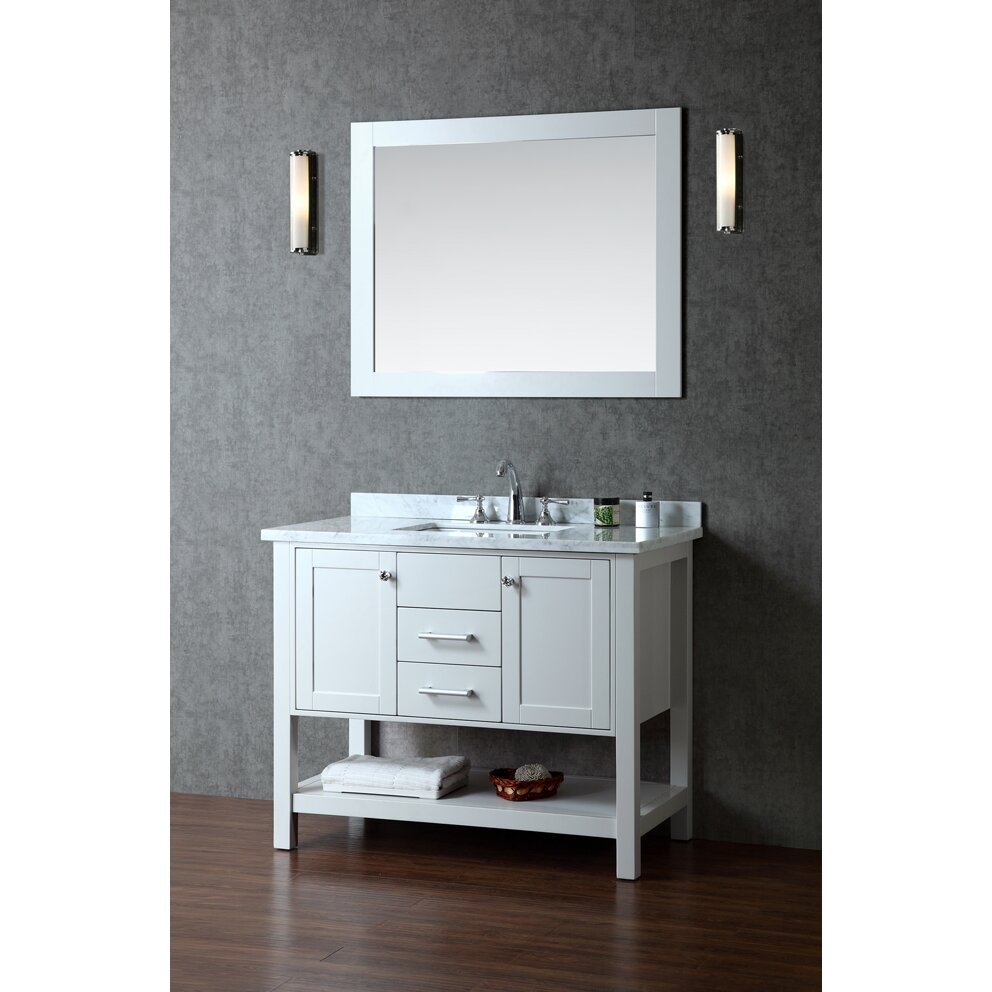 Wash Tub Vanity : Ariel Bath Bayhill 42