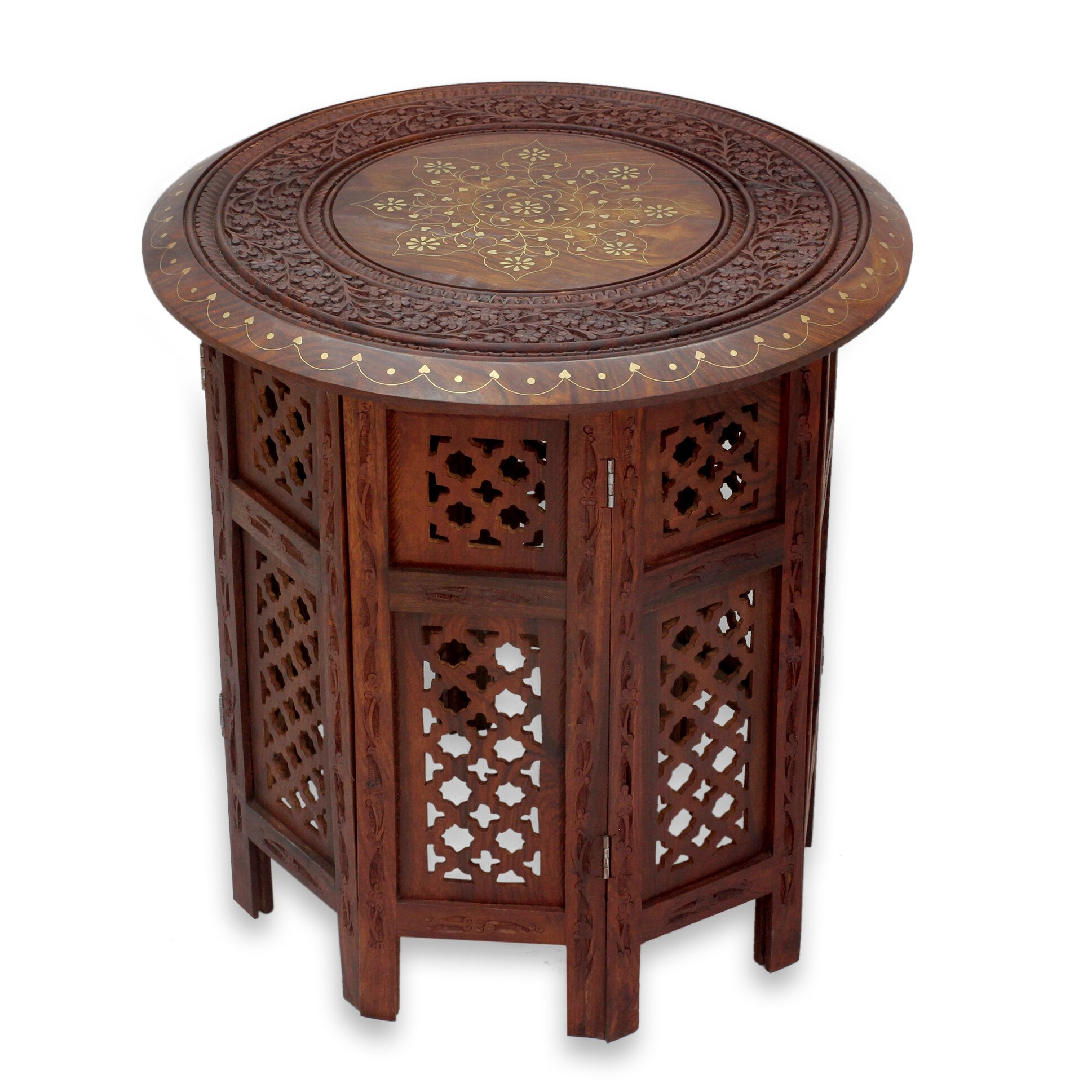 Evening Coffee Time End Table by Novica
