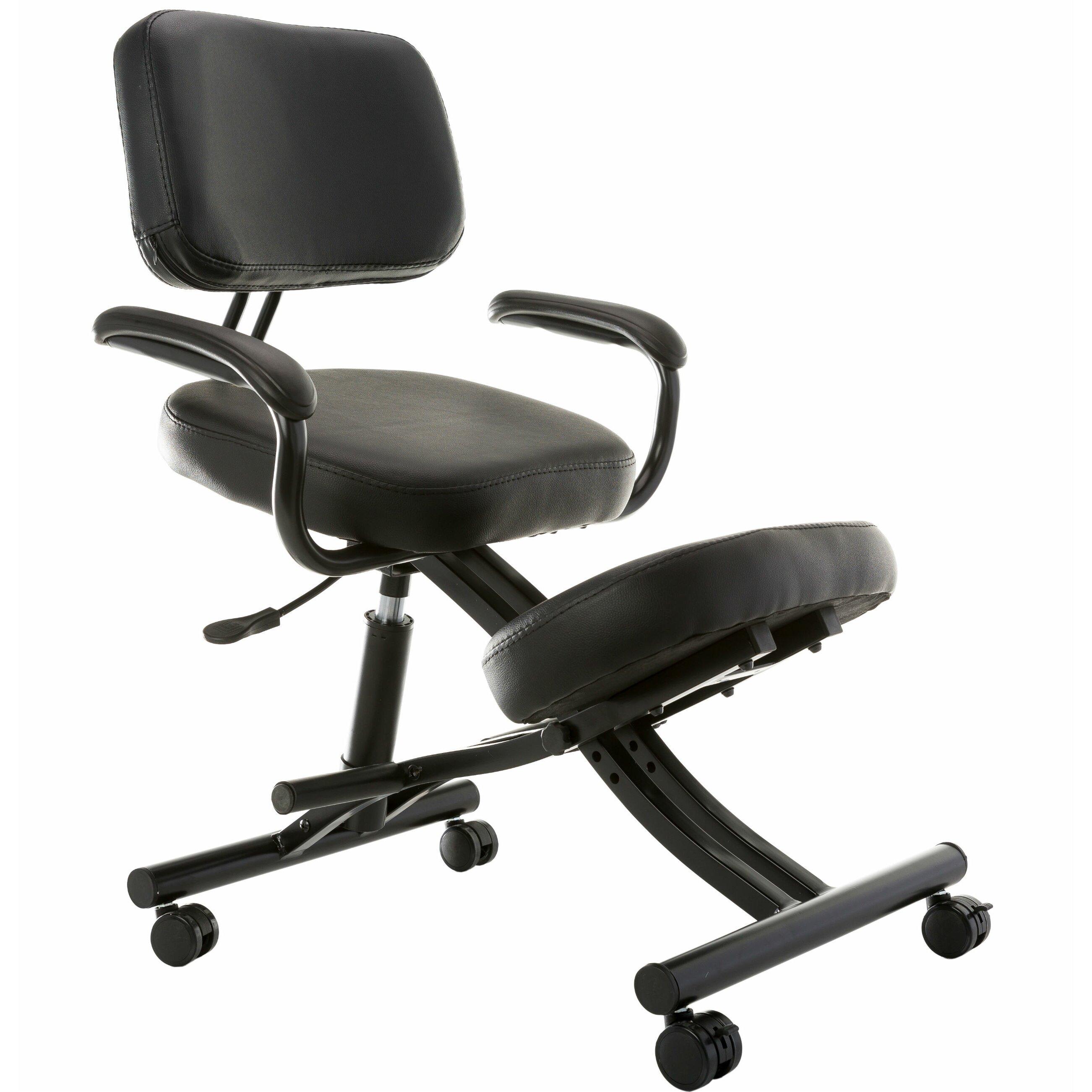 Sierra fort Ergonomic Low Back Kneeling Chair