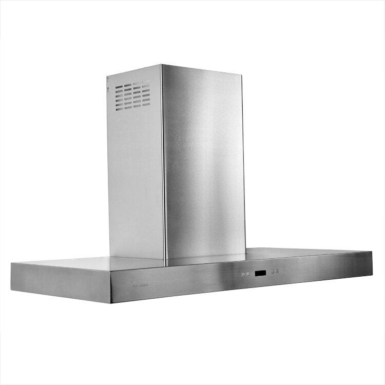 cavaliere 36 900 cfm ductless island range hood reviews wayfair. Black Bedroom Furniture Sets. Home Design Ideas