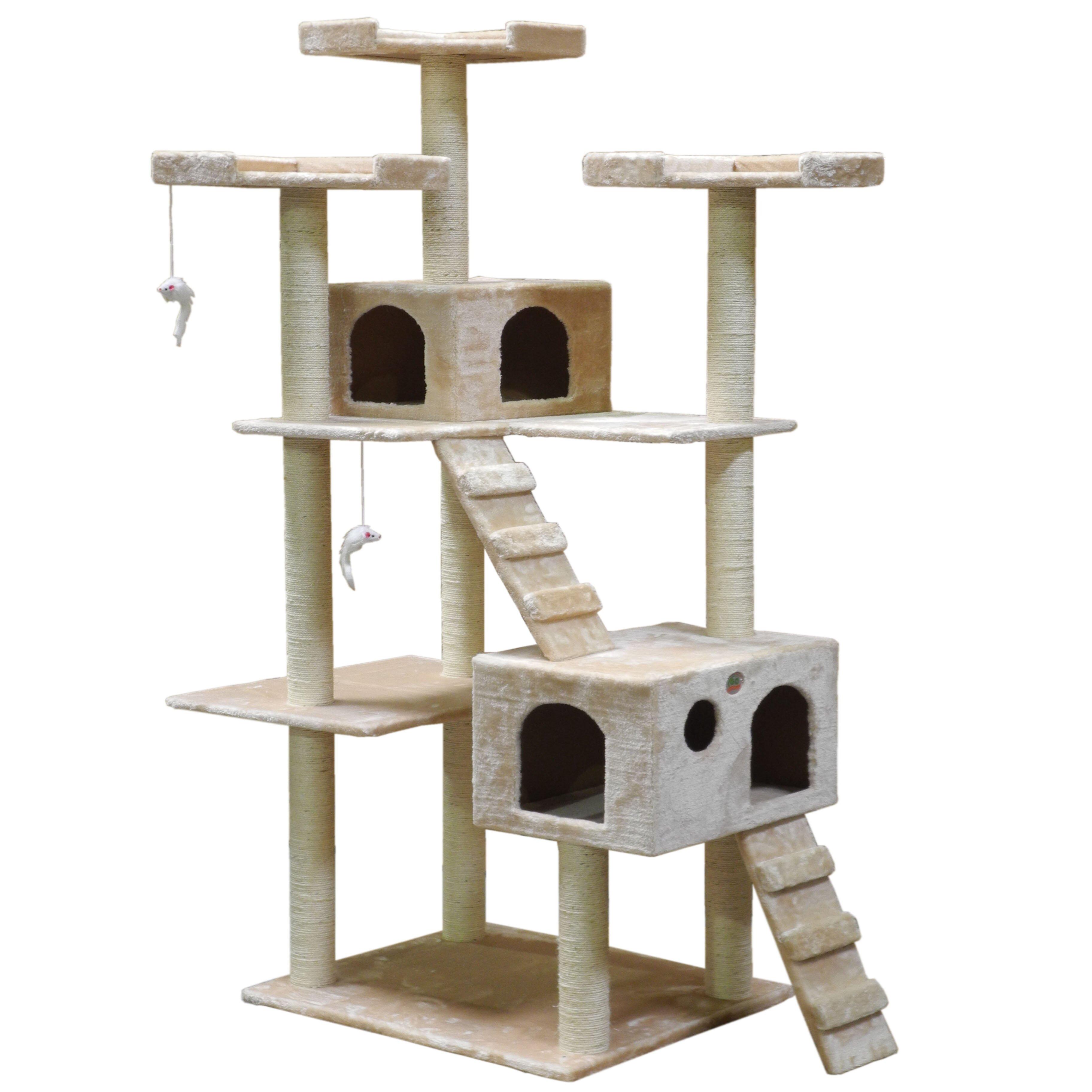 "Go Pet Club 72"" Cat Tree & Reviews"