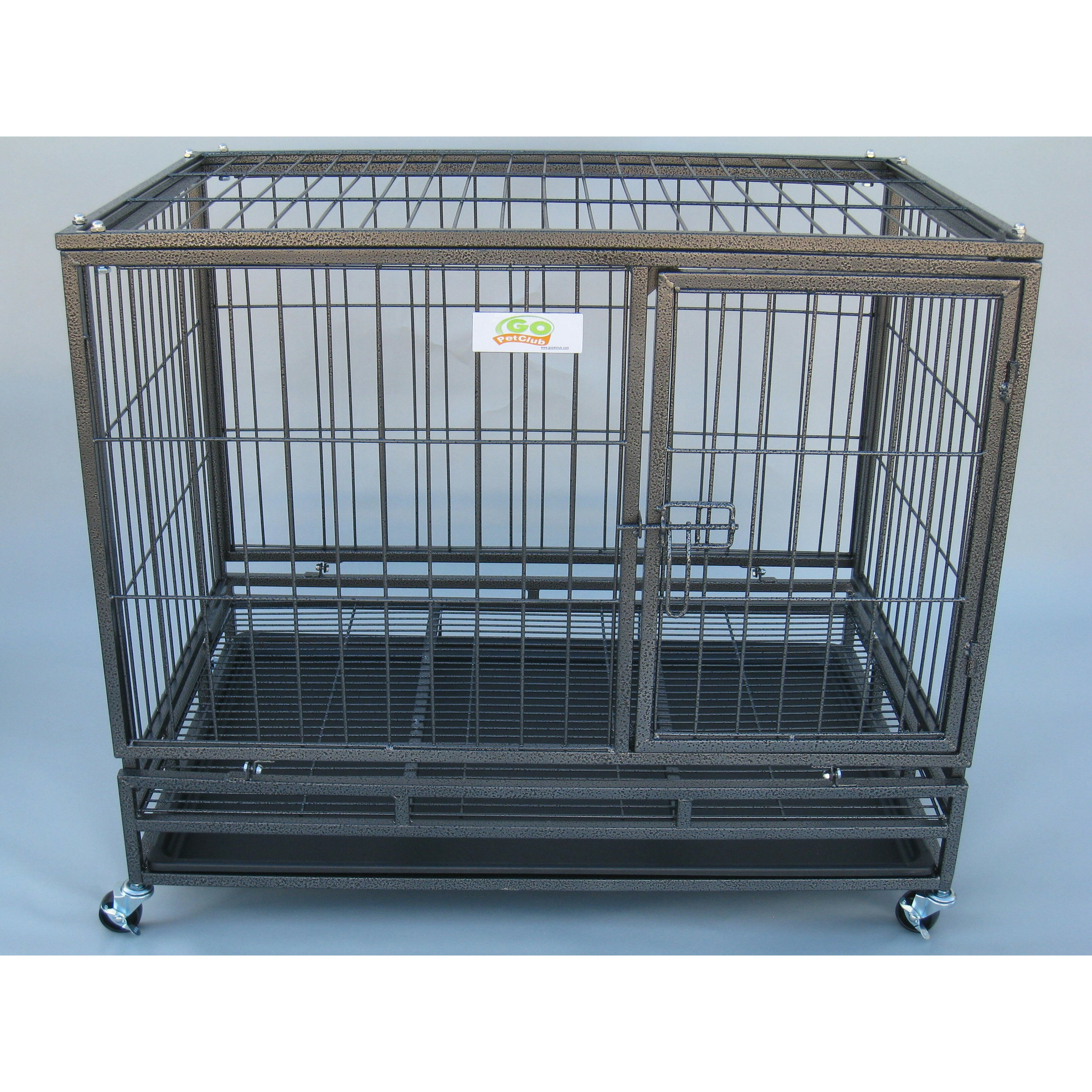 Go Pet Club Steel Pet Crate Reviews Wayfair