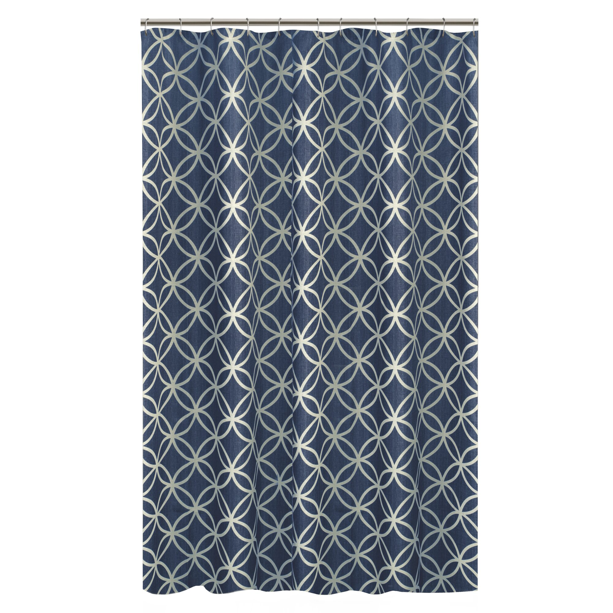 Light teal shower curtain - Brown and light blue curtains ...
