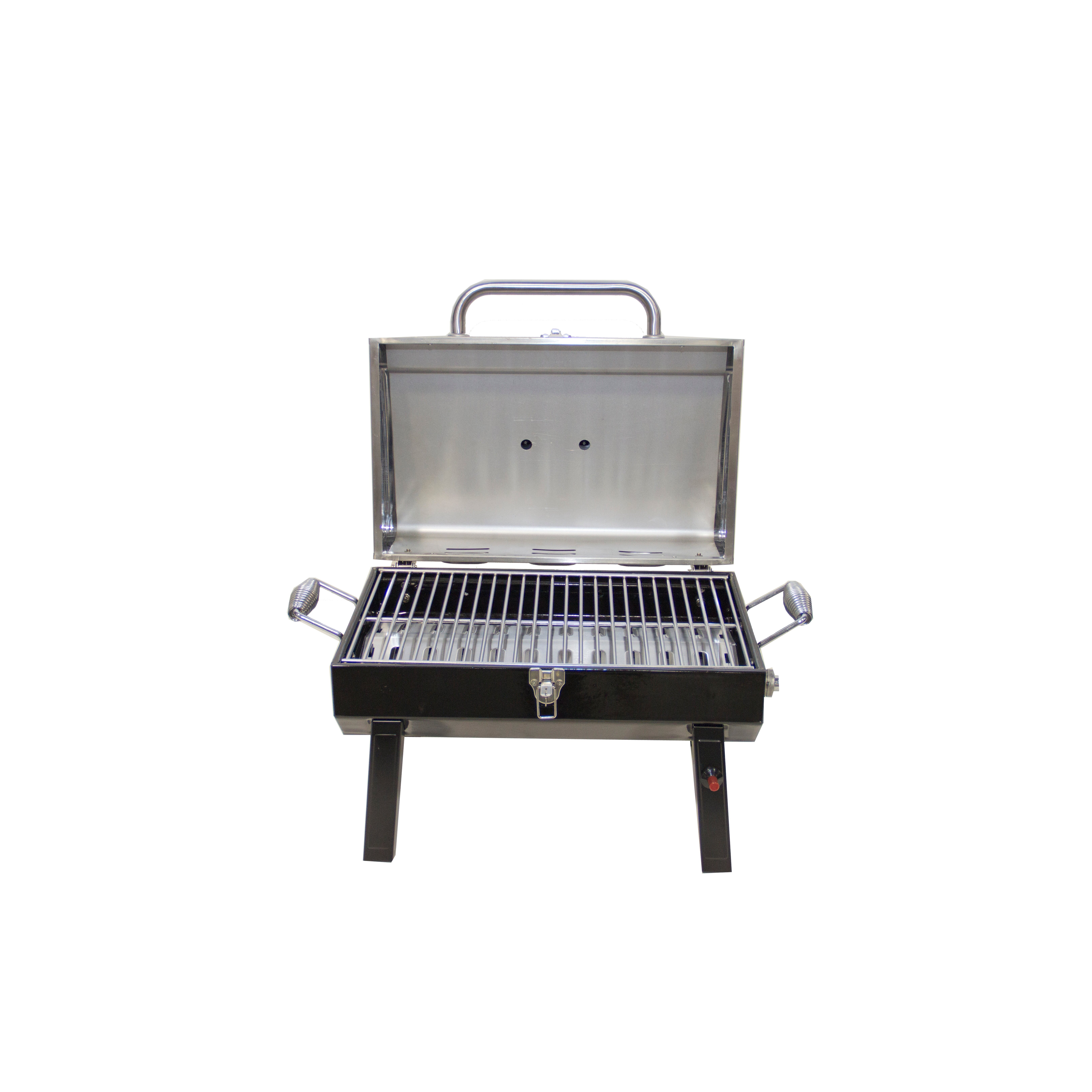 Charbroil Deluxe 1 Burner Portable Propane Gas Grill Reviews . Char Broil  Outdoor Patio Fireplace ...