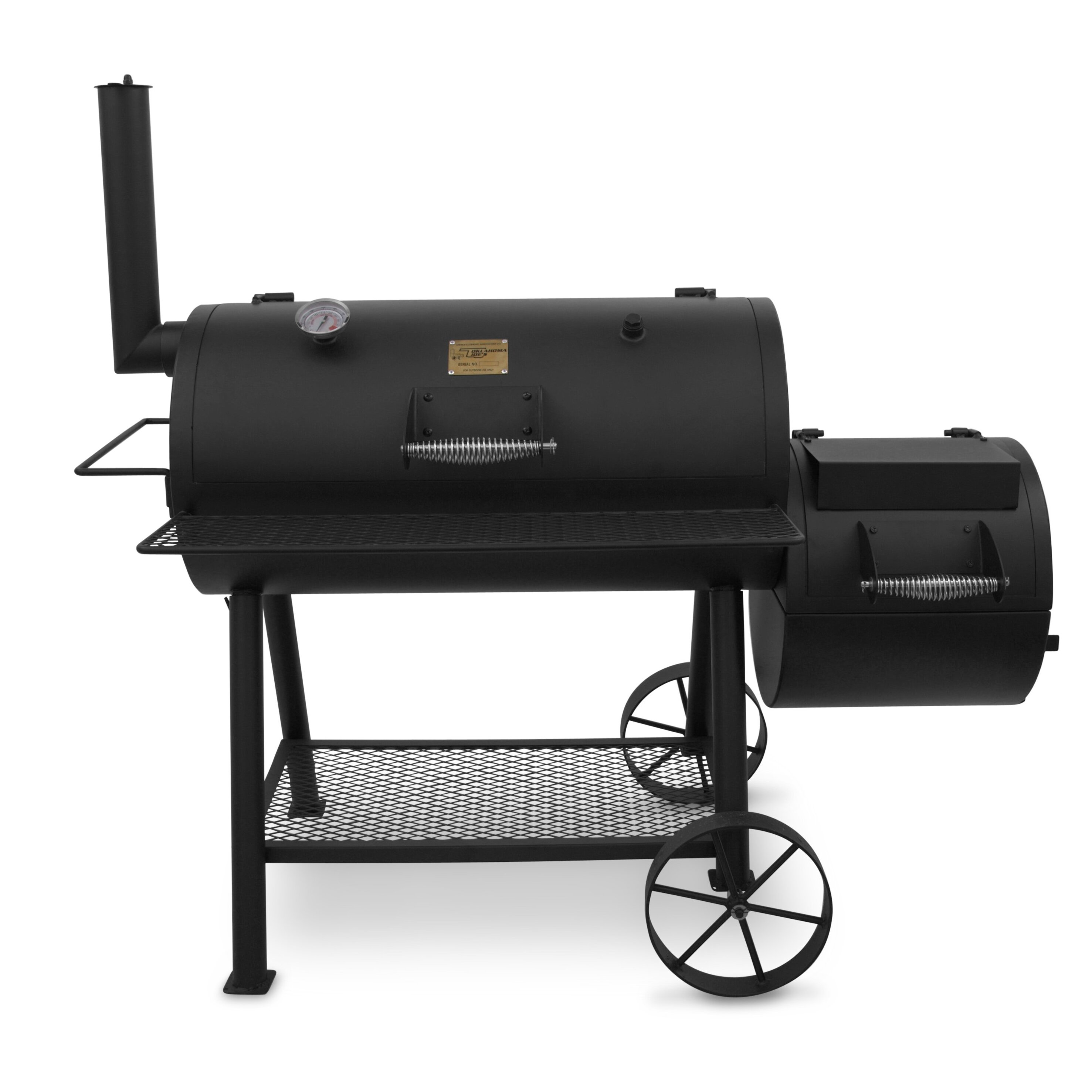 charbroil oklahoma joe 39 s highland offset charcoal smoker and grill reviews. Black Bedroom Furniture Sets. Home Design Ideas