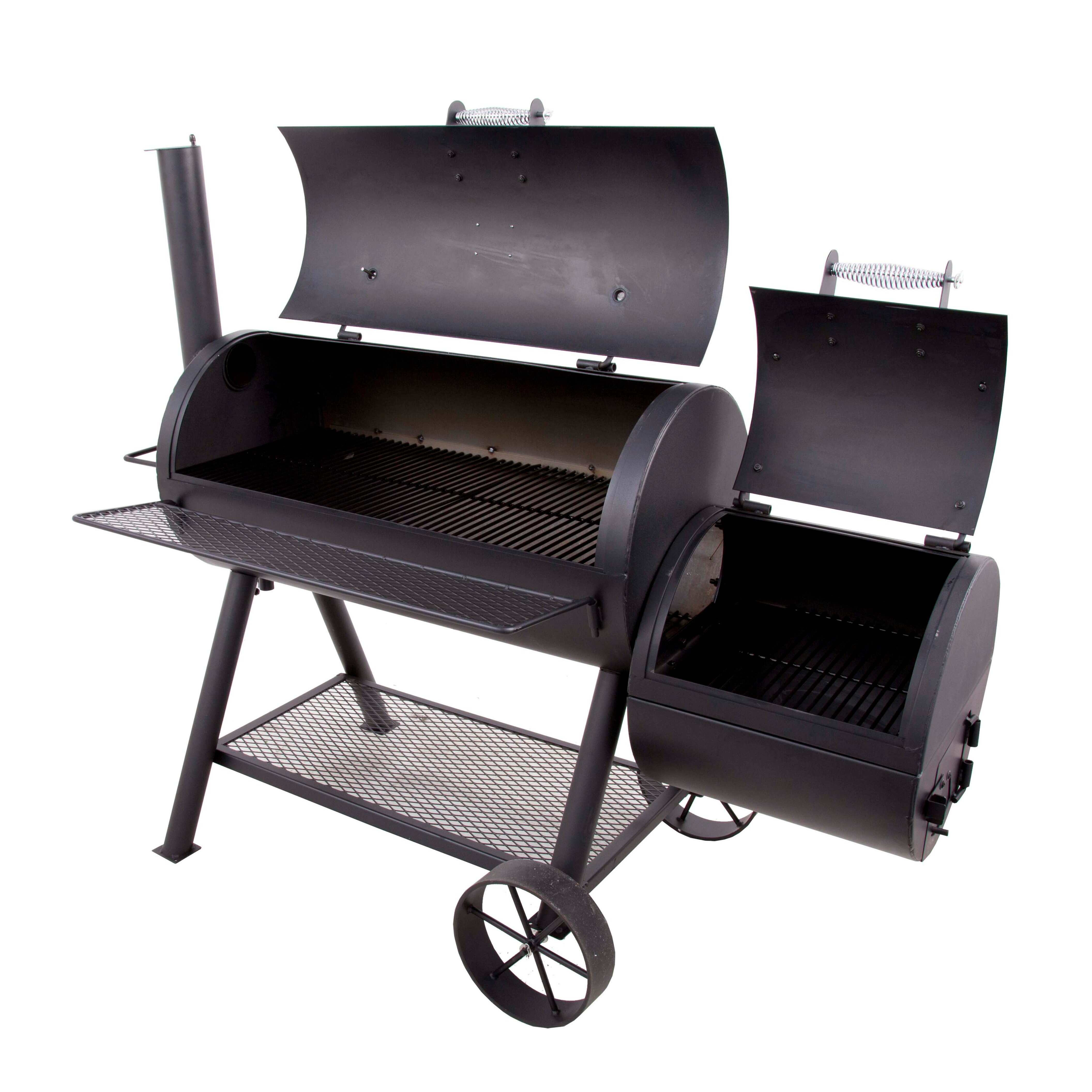 charbroil oklahoma joe 39 s longhorn offset smoker and charcoal grill reviews. Black Bedroom Furniture Sets. Home Design Ideas