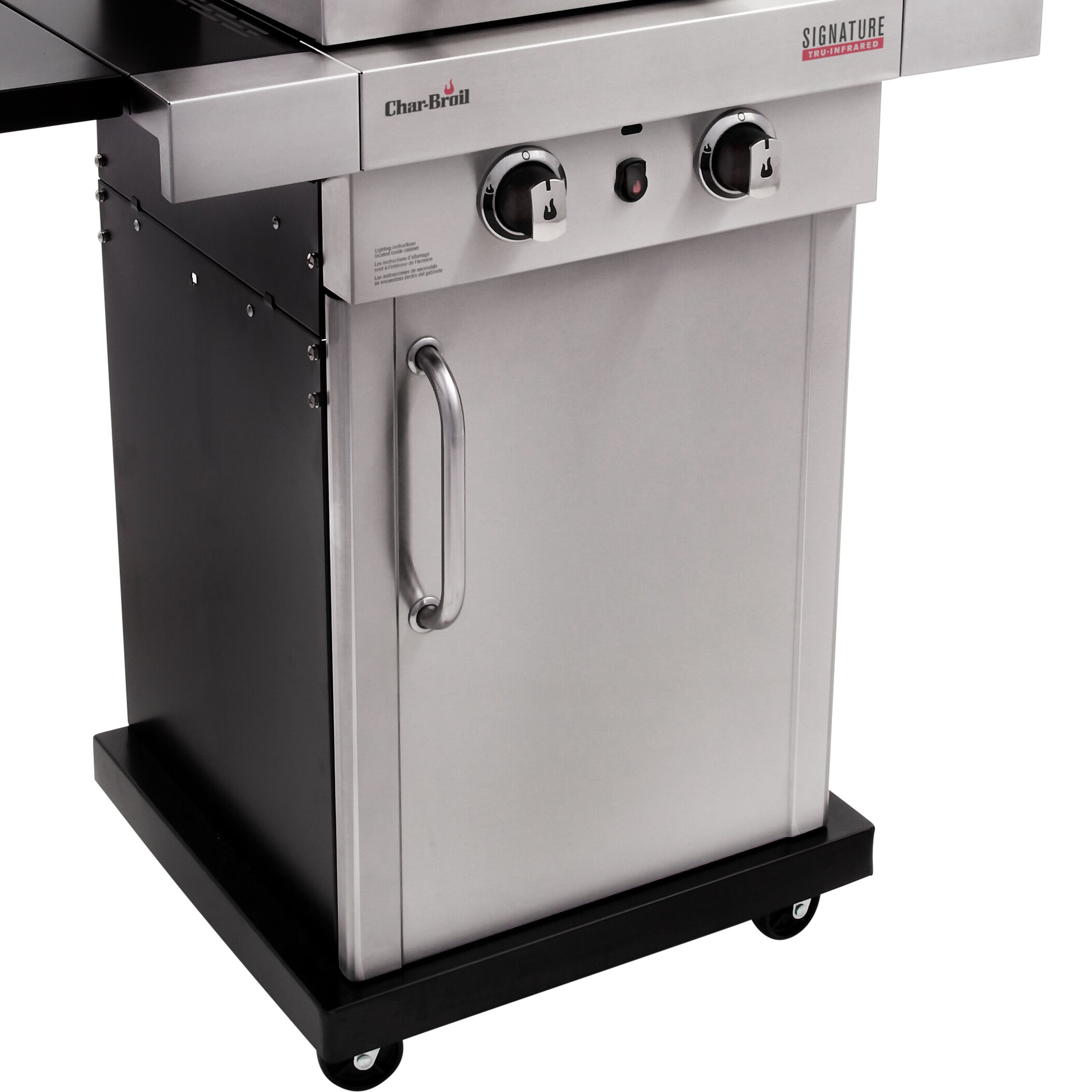 Grill Cabinet: CharBroil Signature InfraRed 2-Burner Propane Gas Grill