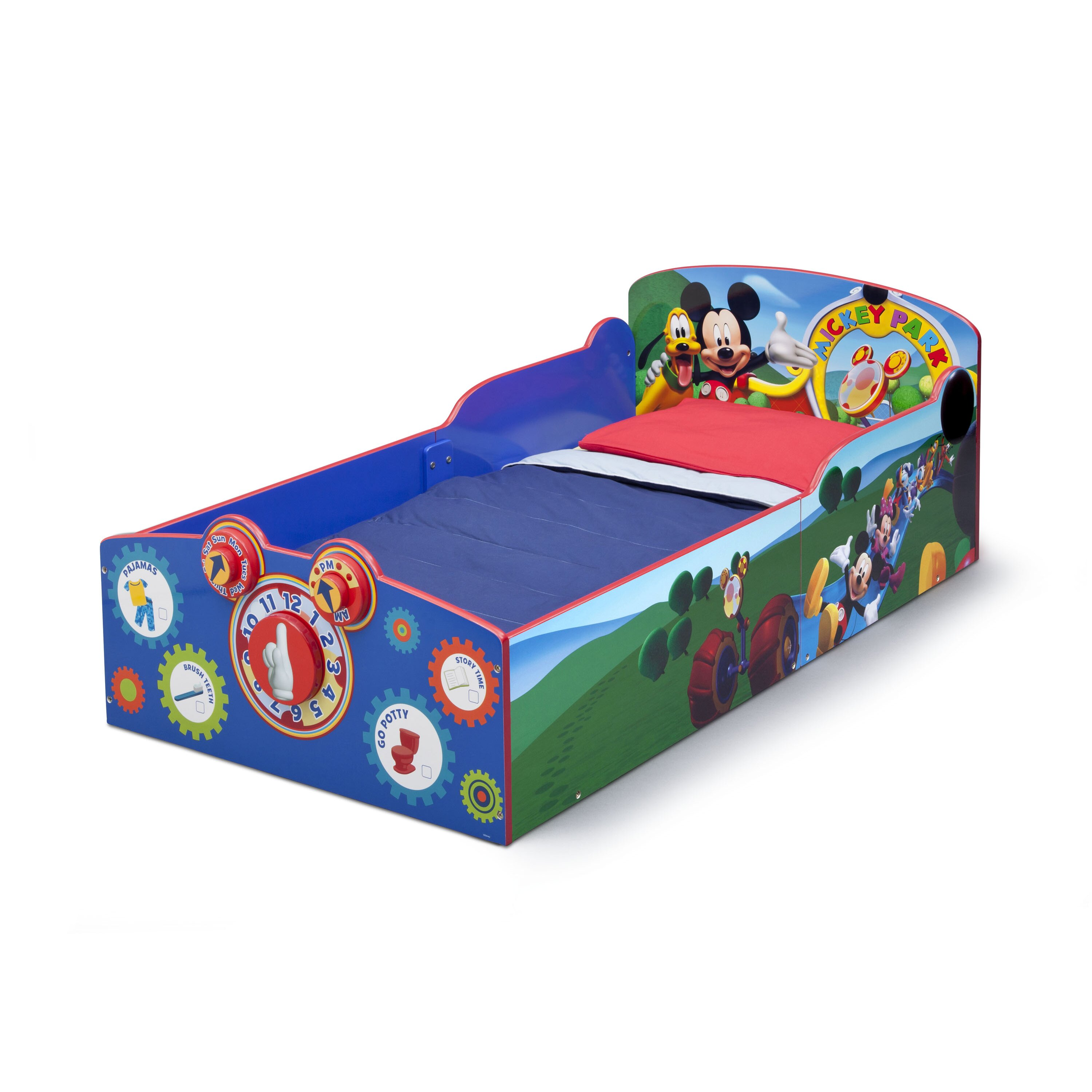 Delta Children Mickey Mouse Toddler Bed amp Reviews Wayfair : Delta Children Mickey Mouse Toddler Bed from www.wayfair.com size 3000 x 3000 jpeg 706kB