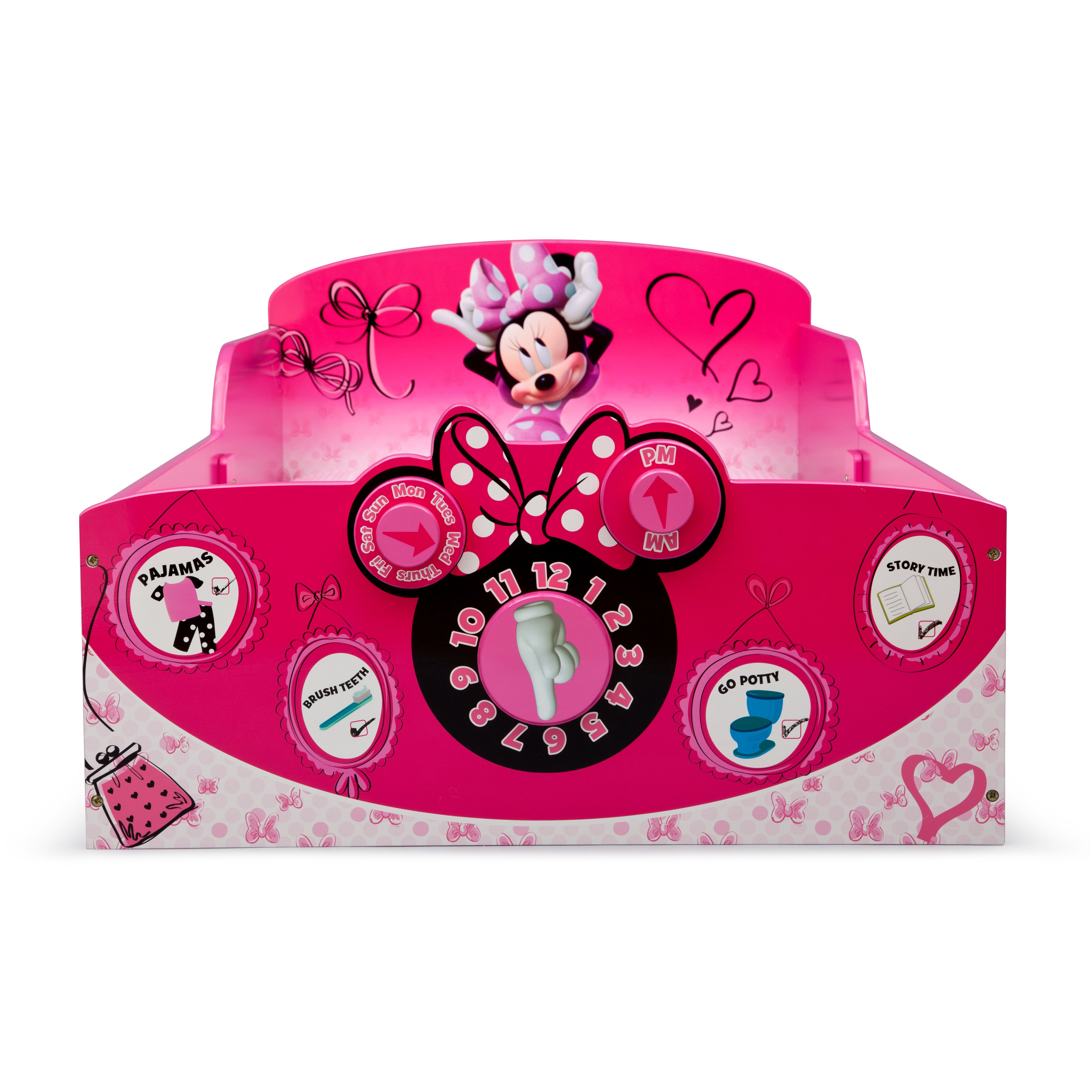 Minnie Mouse Stuff For Bedroom Delta Children Minnie Mouse Toddler Bed Reviews Wayfair