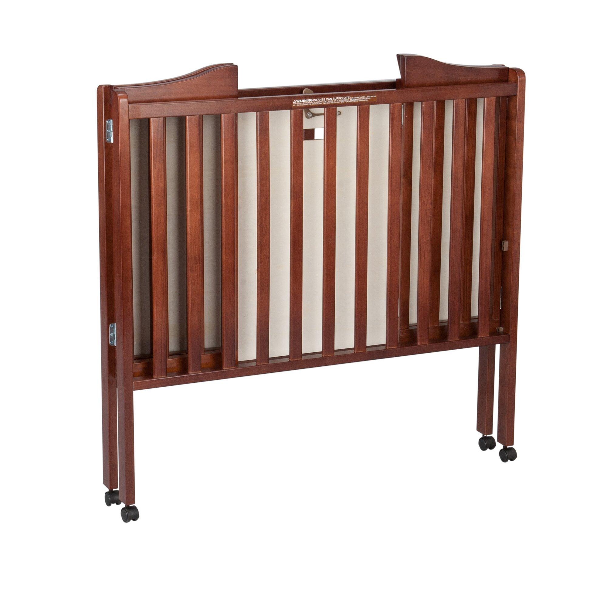 Baby bed portable - Delta Children Portable Mini Crib With Mattress