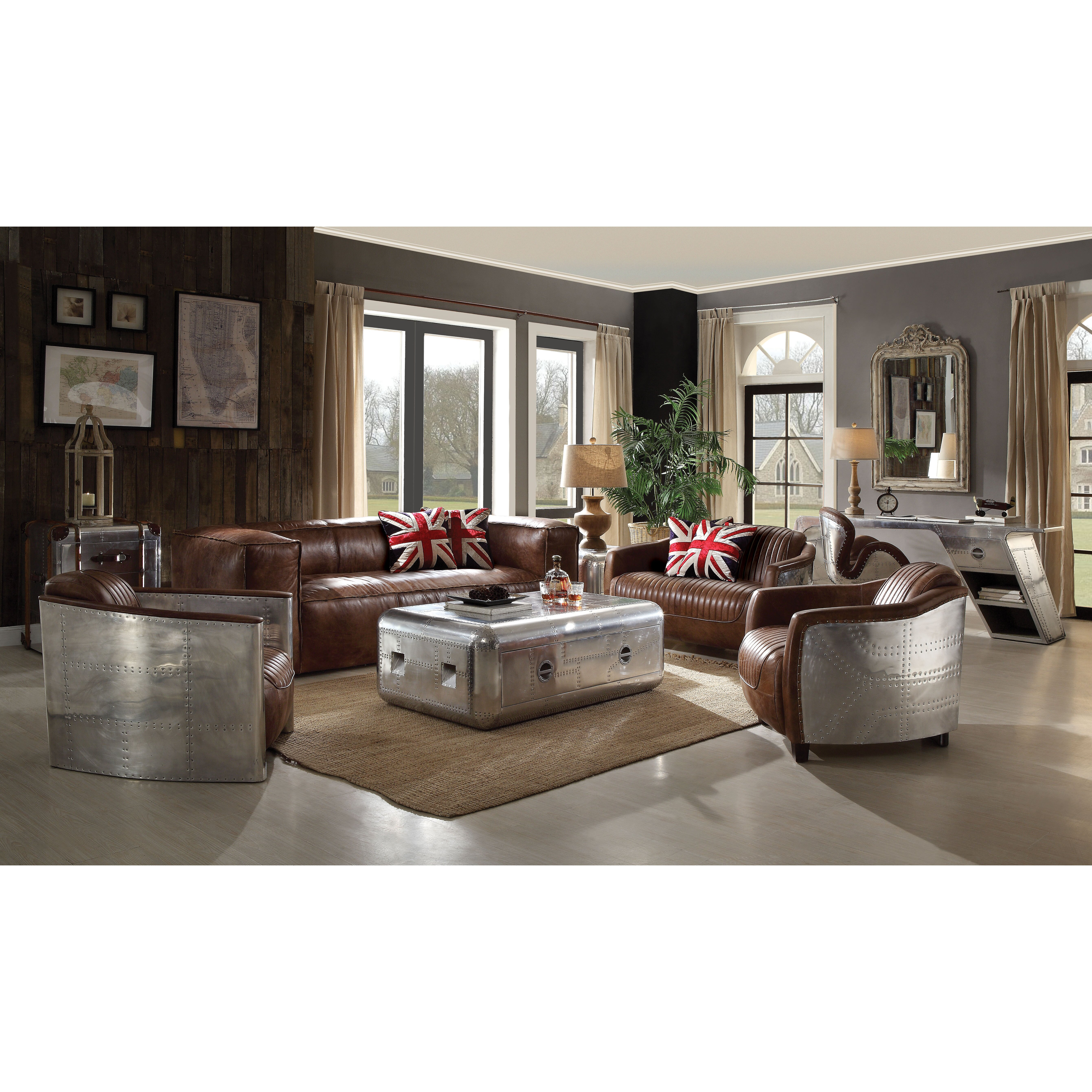 Acme Furniture Brancaster Living Room Collection Reviews Wayfair .