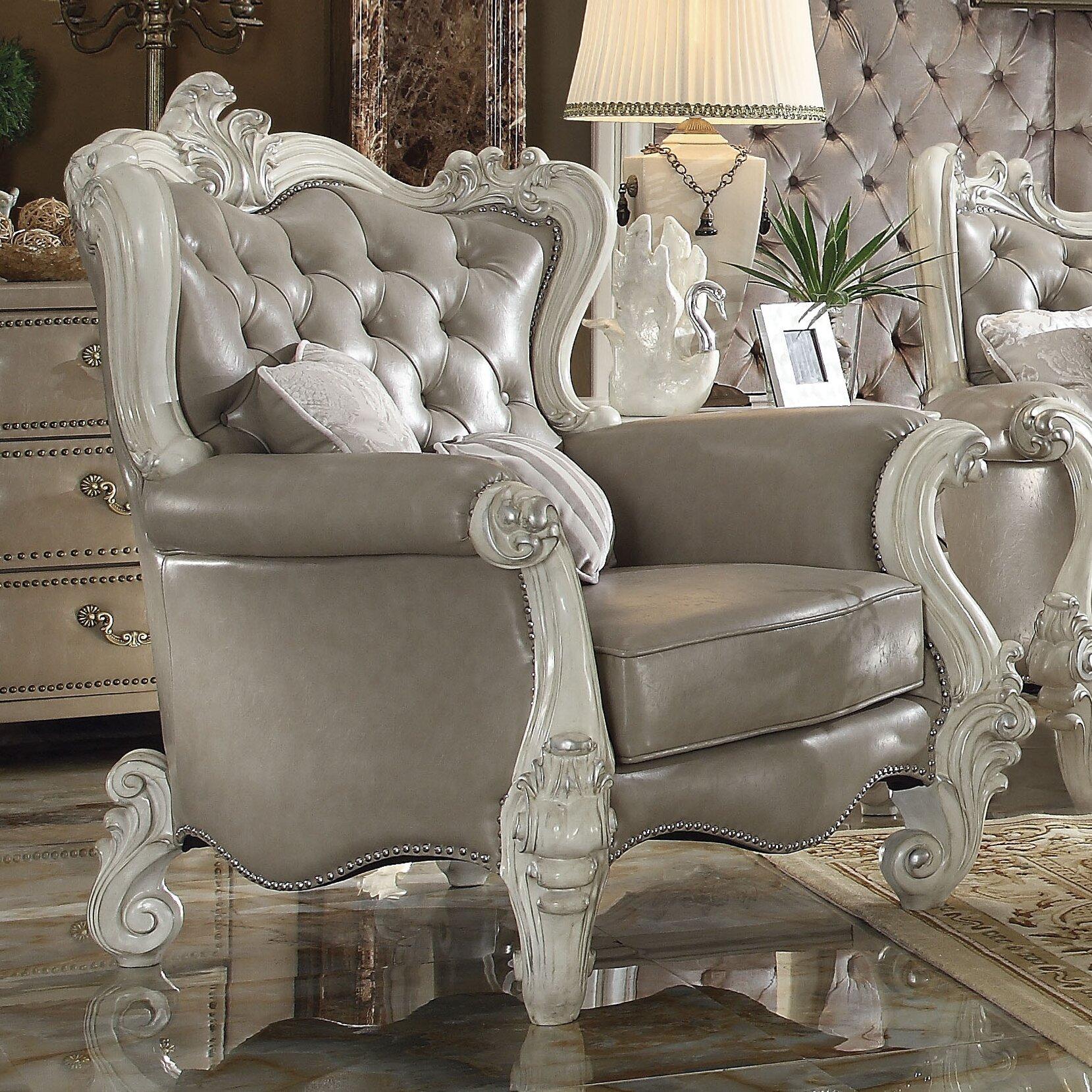 Acme Furniture Versailles Arm Chair