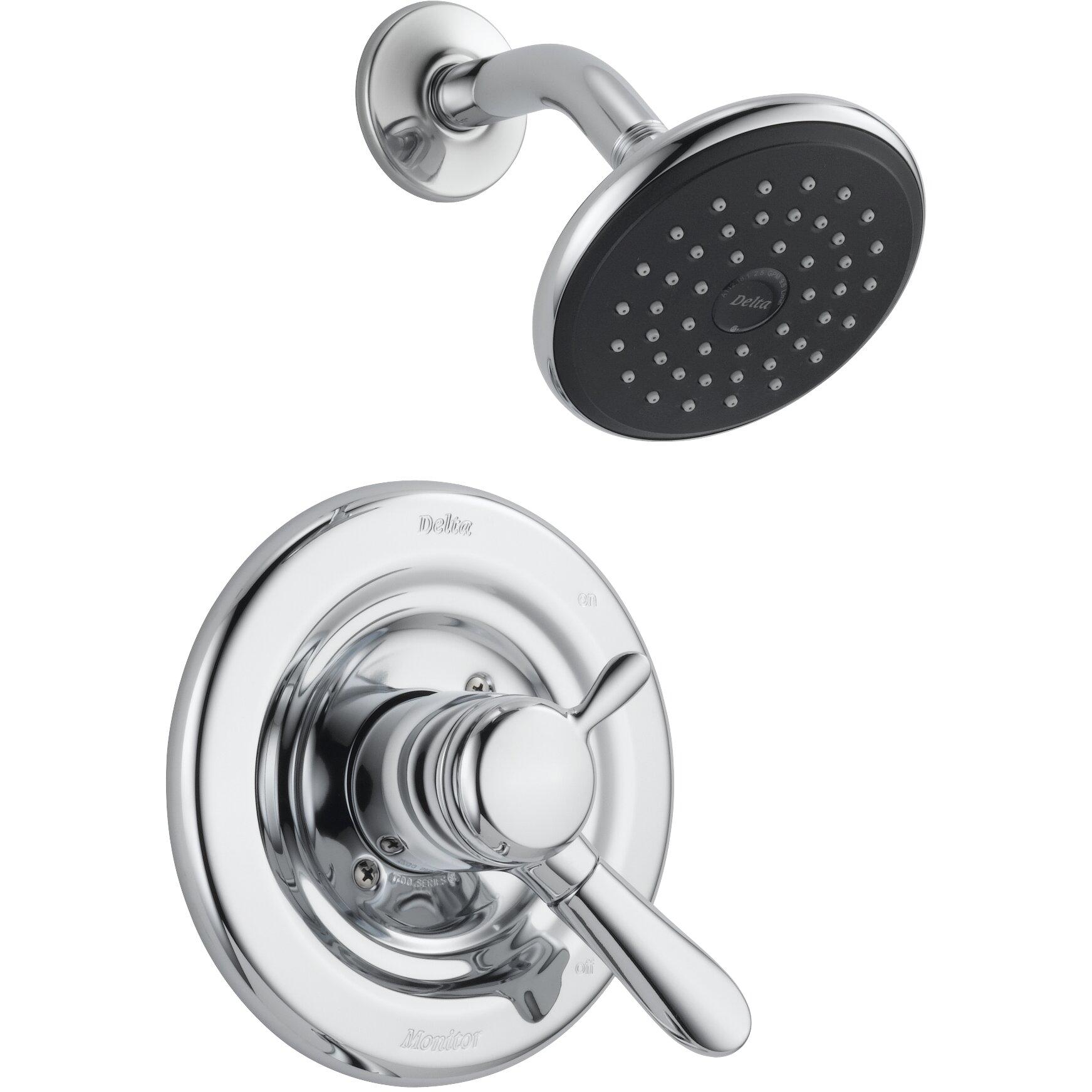 Delta Lahara Shower Faucet Trim with Lever Handles & Reviews Wayfair