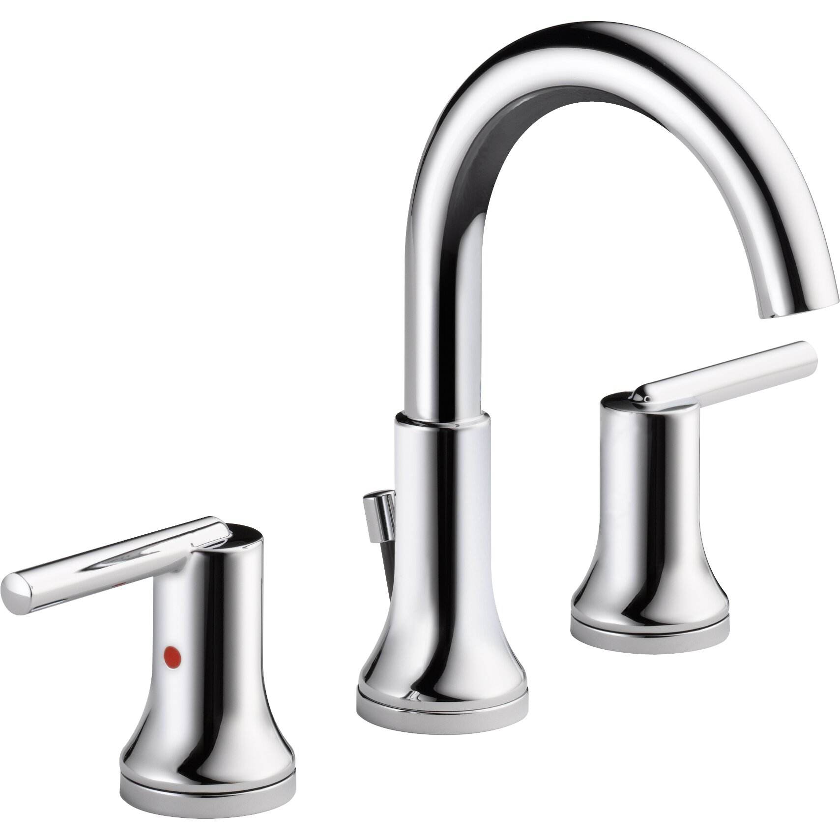 delta trinsic bathroom standard faucet lever handle bathroom faucet
