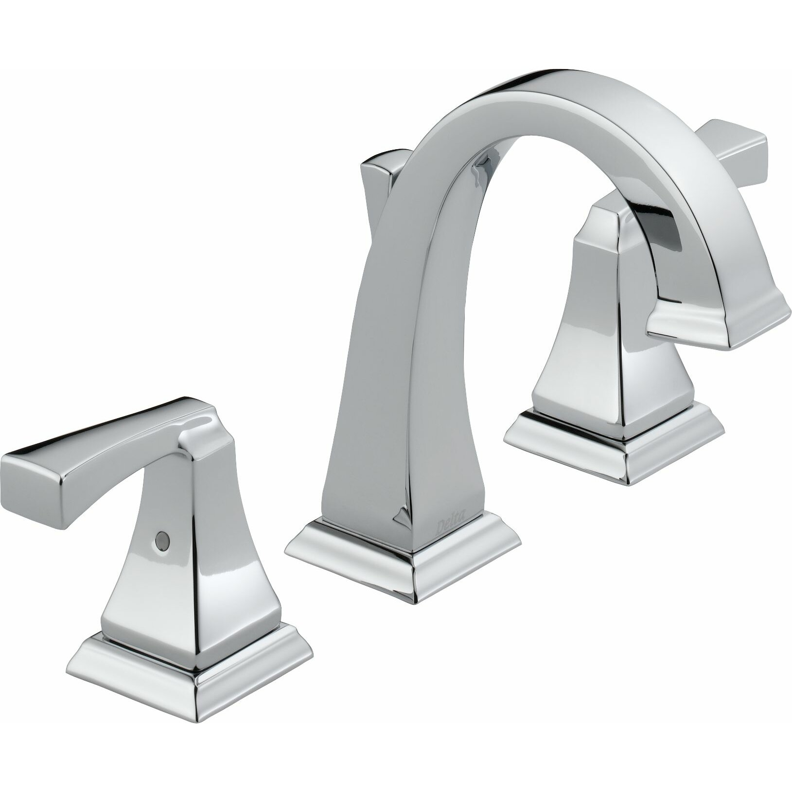 Bathroom Faucet Delta Dryden Widespread Bathroom Faucet With Double Lever Handles