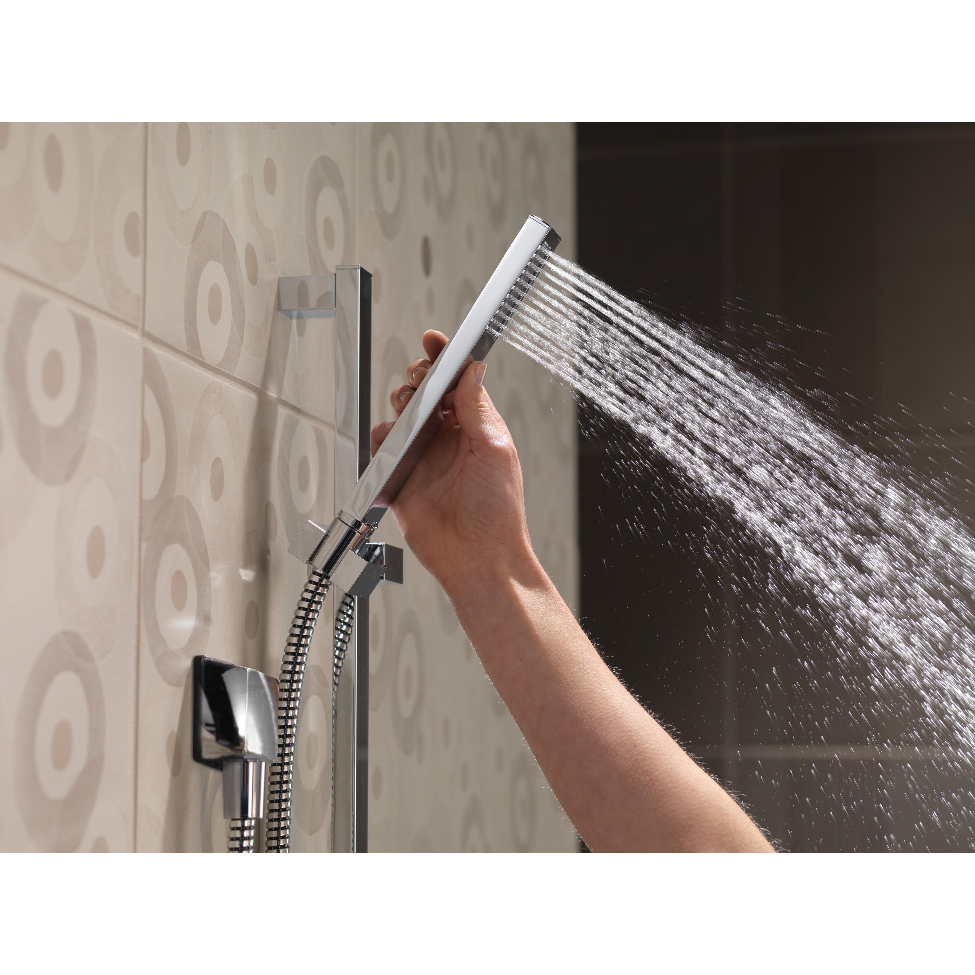 Delta Vero Dual Function Slide Bar Shower Head Trim