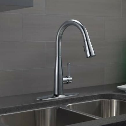 pull down kitchen faucet reviews delta essa single handle pull standard kitchen faucet 25520