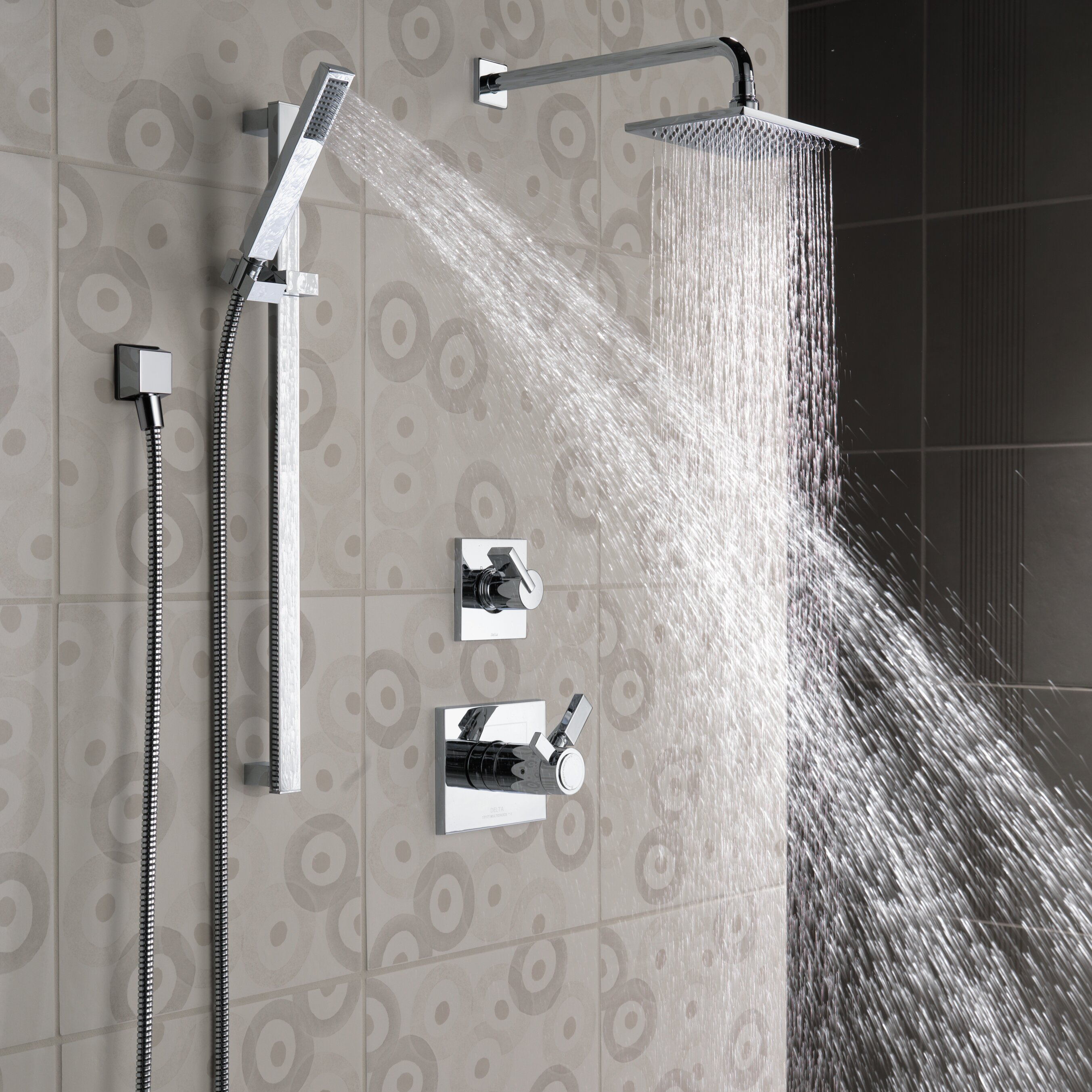 Delta Vero Slide Bar Hand Shower Amp Reviews Wayfair