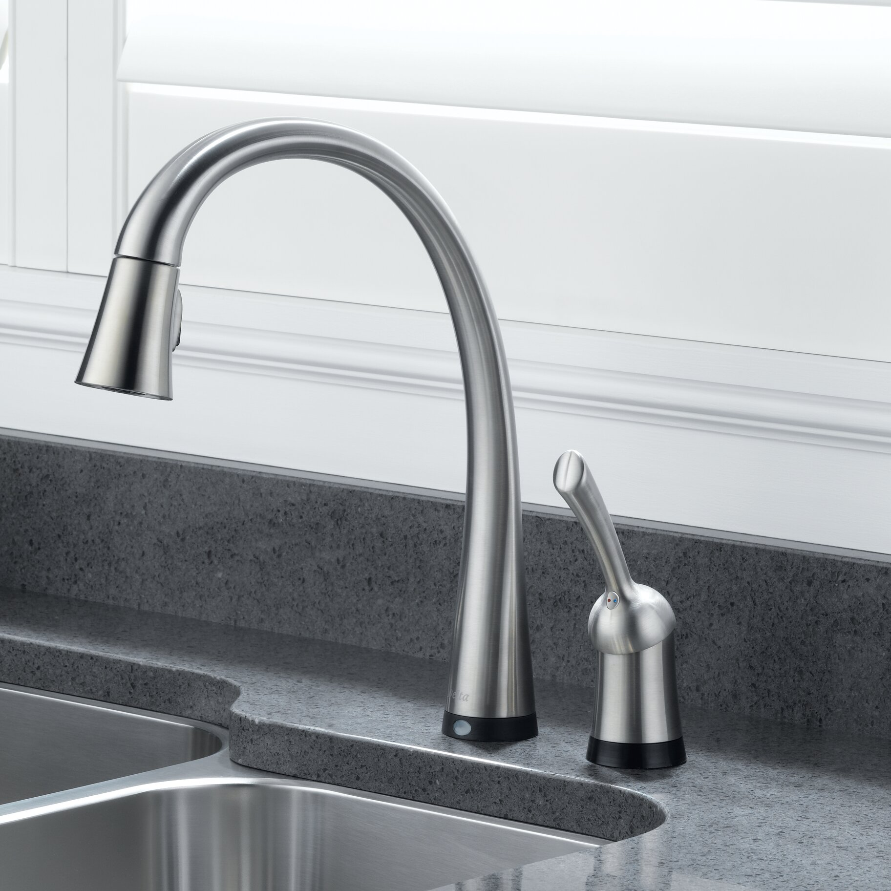 Delta Kitchen Faucet Cartridge Delta Pilar Single Handle Standard Kitchen Faucet With Touch