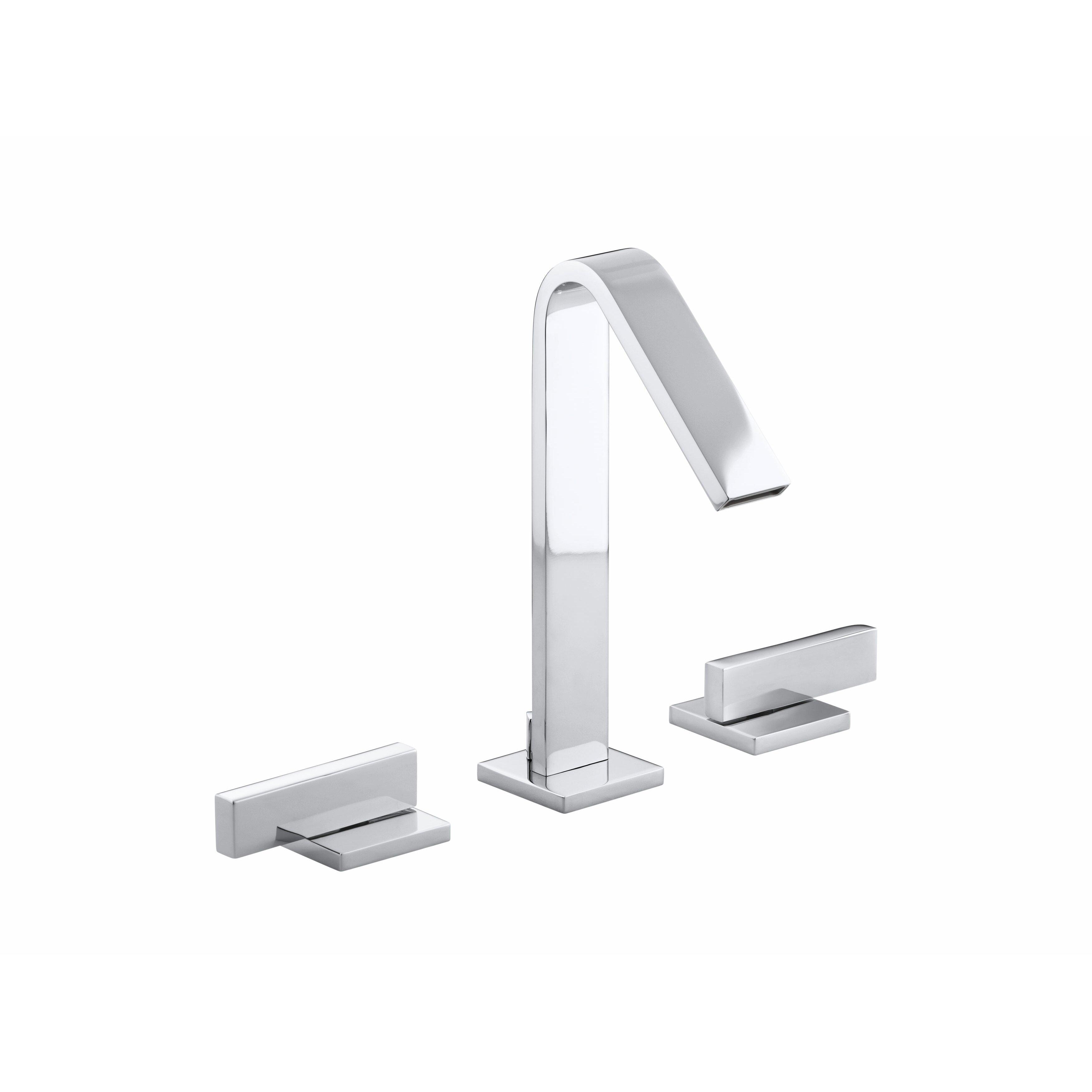 kohler loure widespread bathroom sink faucet & reviews | wayfair