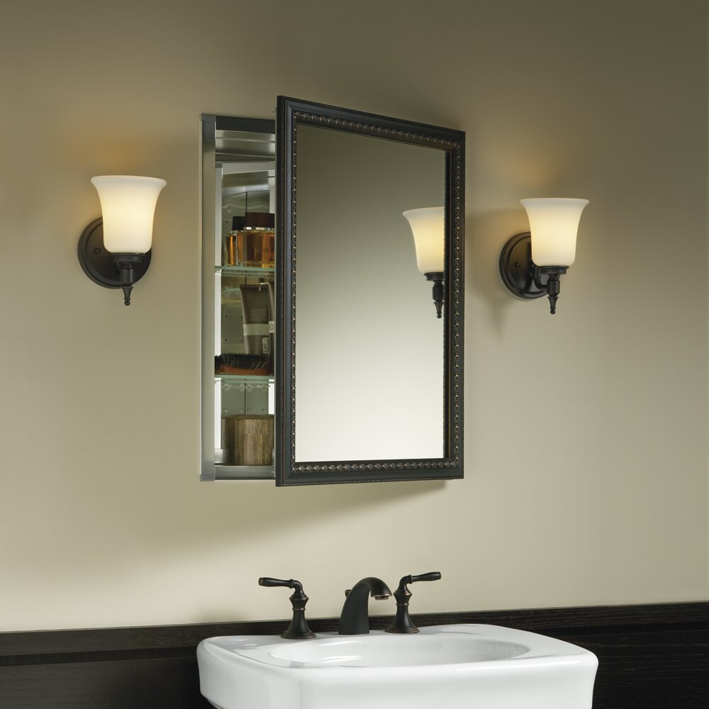 Built in bathroom medicine cabinets - Kohler 20 Quot X 26 Quot Wall Mount Mirrored Medicine Cabinet