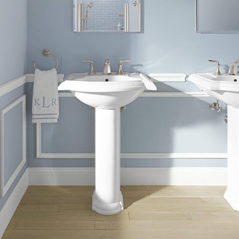 Devonshire Pedestal Sink : Kohler Devonshire 24